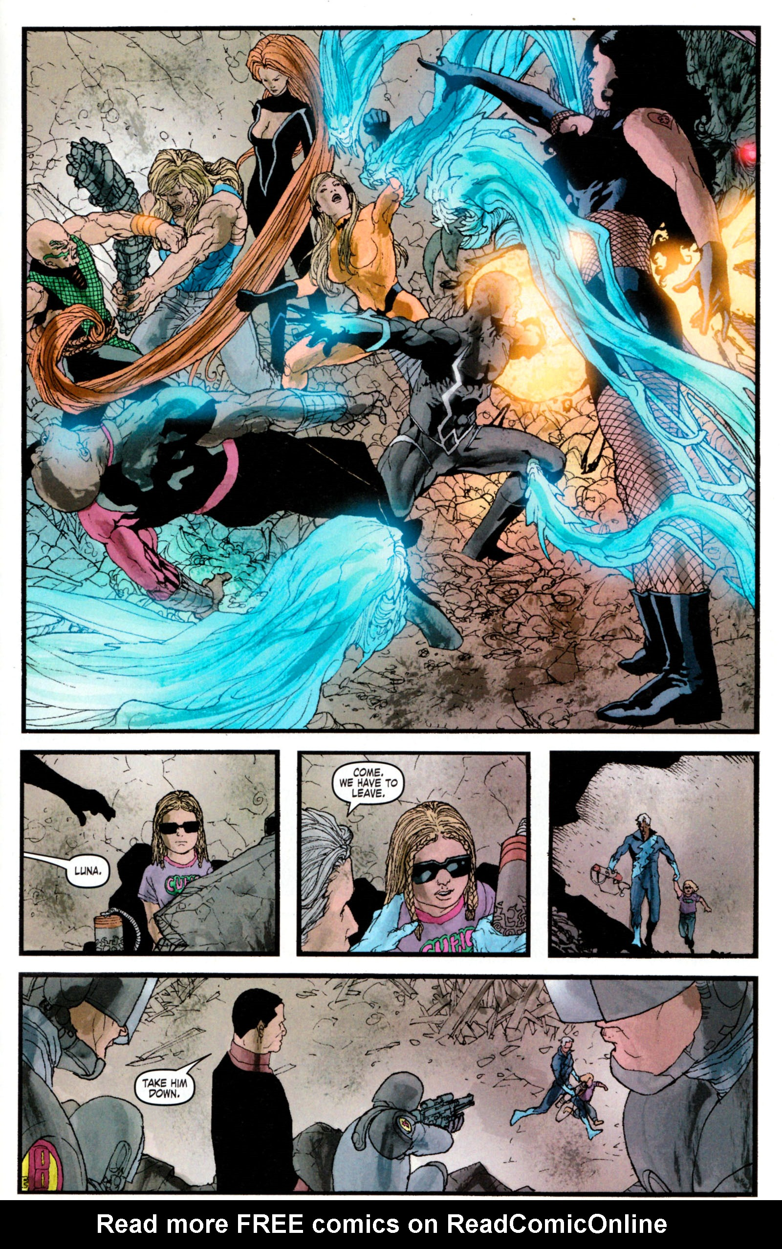 Read online Son of M comic -  Issue #5 - 32