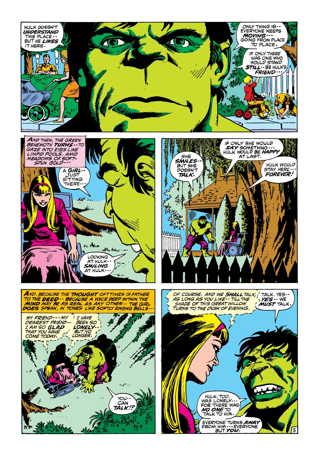 Read online Marvel Masterworks: The Incredible Hulk comic -  Issue # TPB 8 (Part 1) - 80