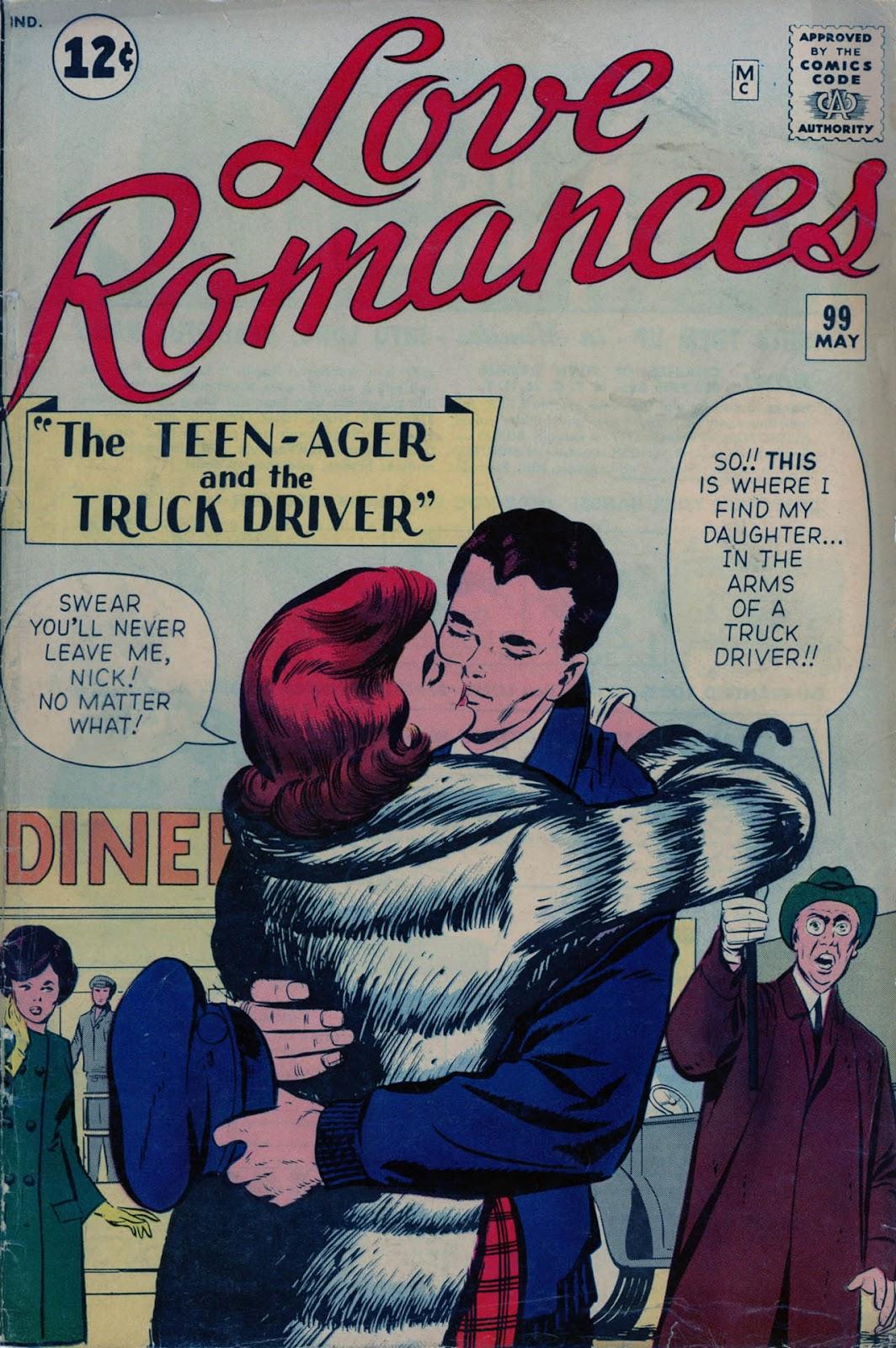Love Romances (1949) issue 99 - Page 1