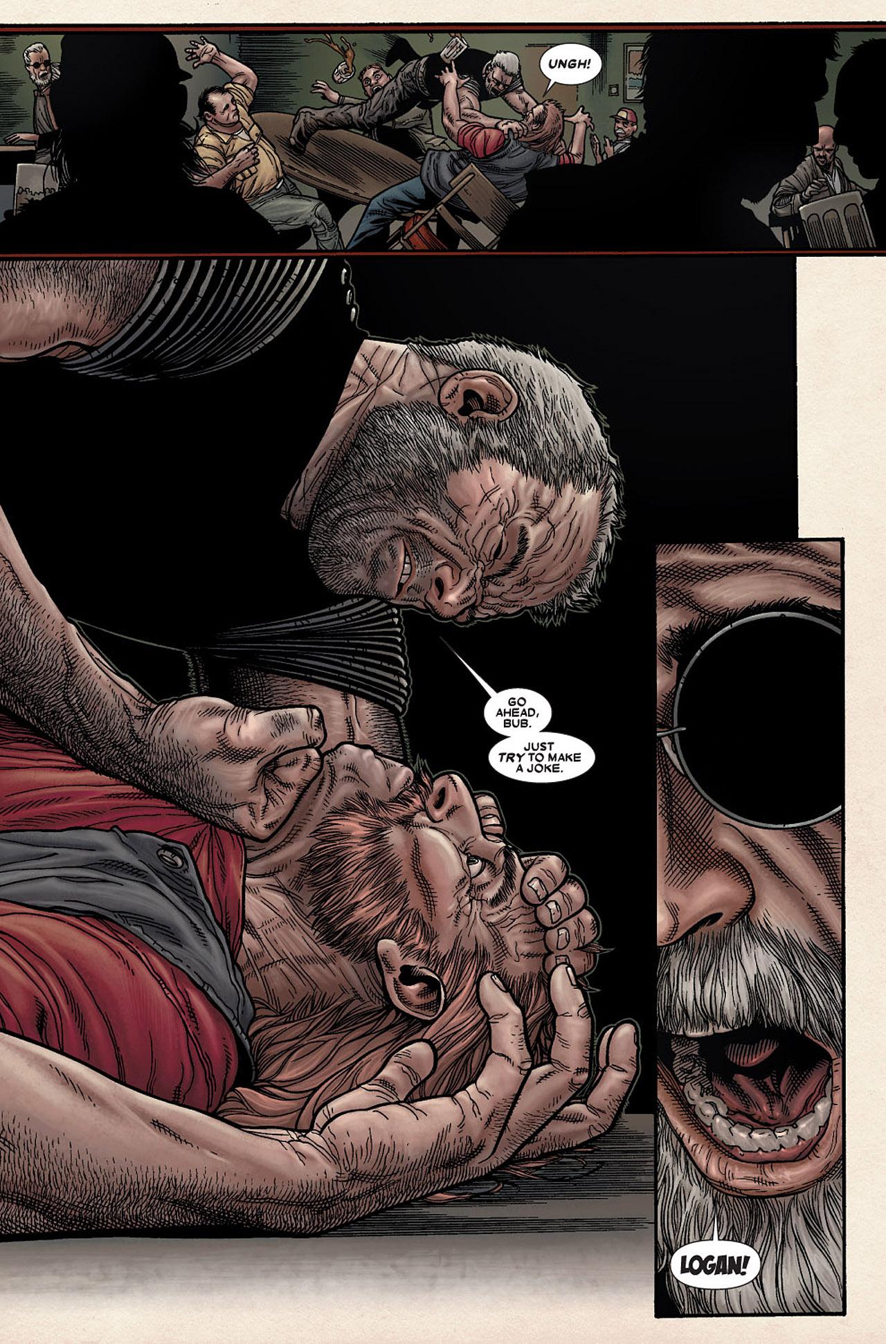 Read online Wolverine: Old Man Logan comic -  Issue # Full - 89