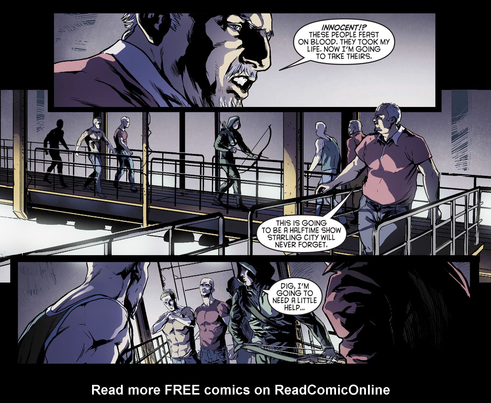 Read online Arrow [II] comic -  Issue #17 - 10