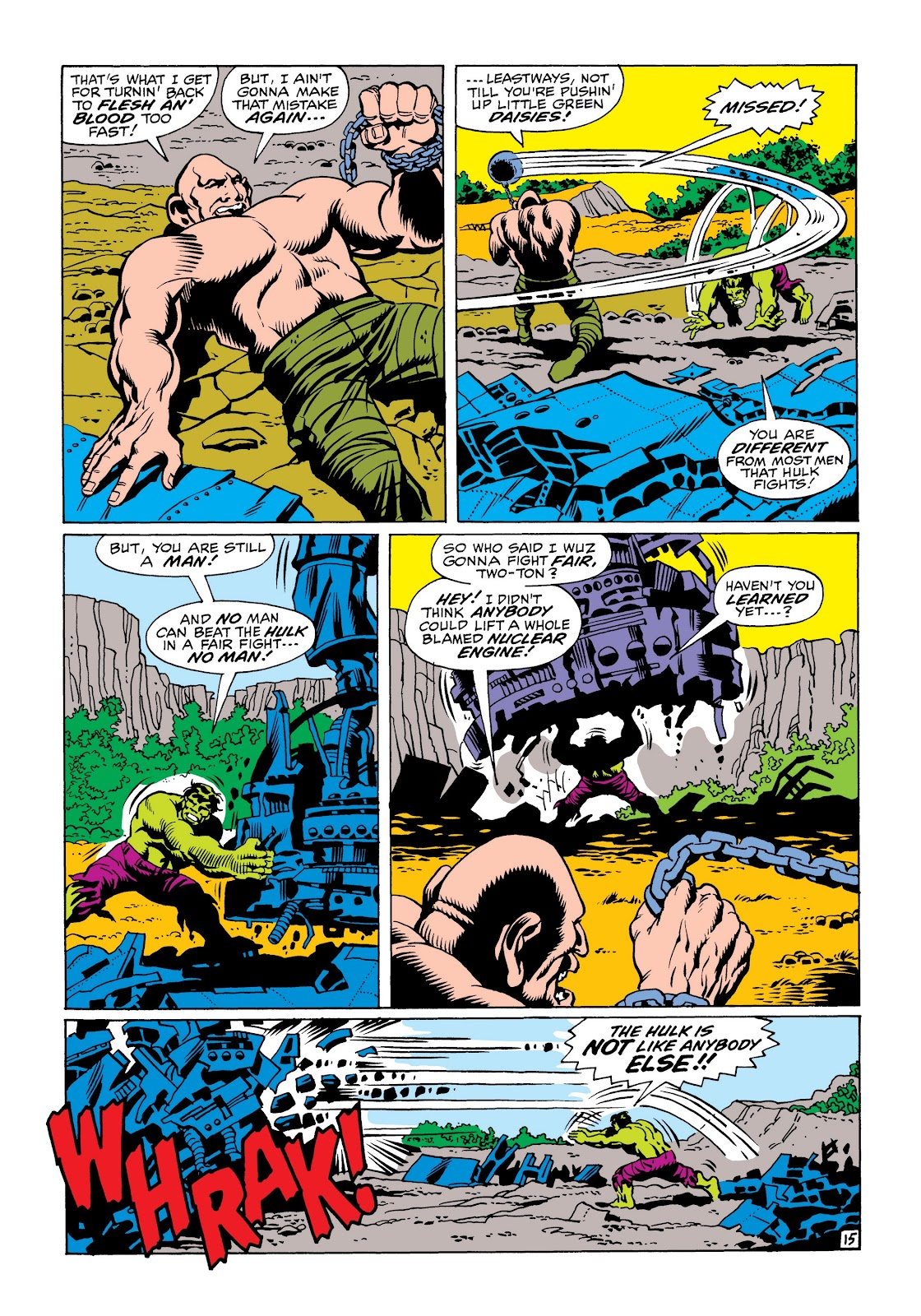 Read online Marvel Masterworks: The Incredible Hulk comic -  Issue # TPB 6 (Part 1) - 87