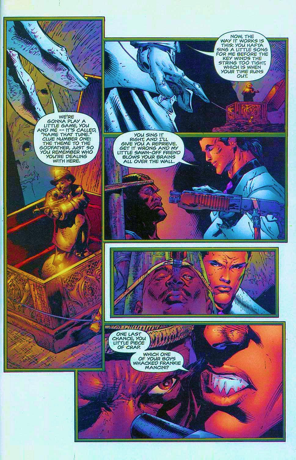 Read online Overkill: Witchblade/Aliens/Darkness/Predator comic -  Issue #1 - 14