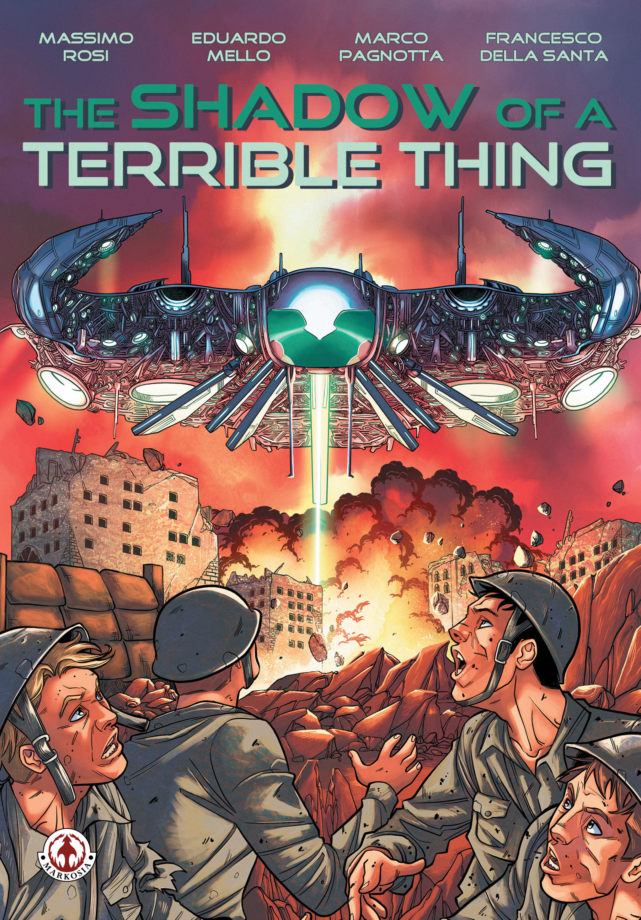 Read online The Shadow of a Terrible Thing comic -  Issue # TPB - 1