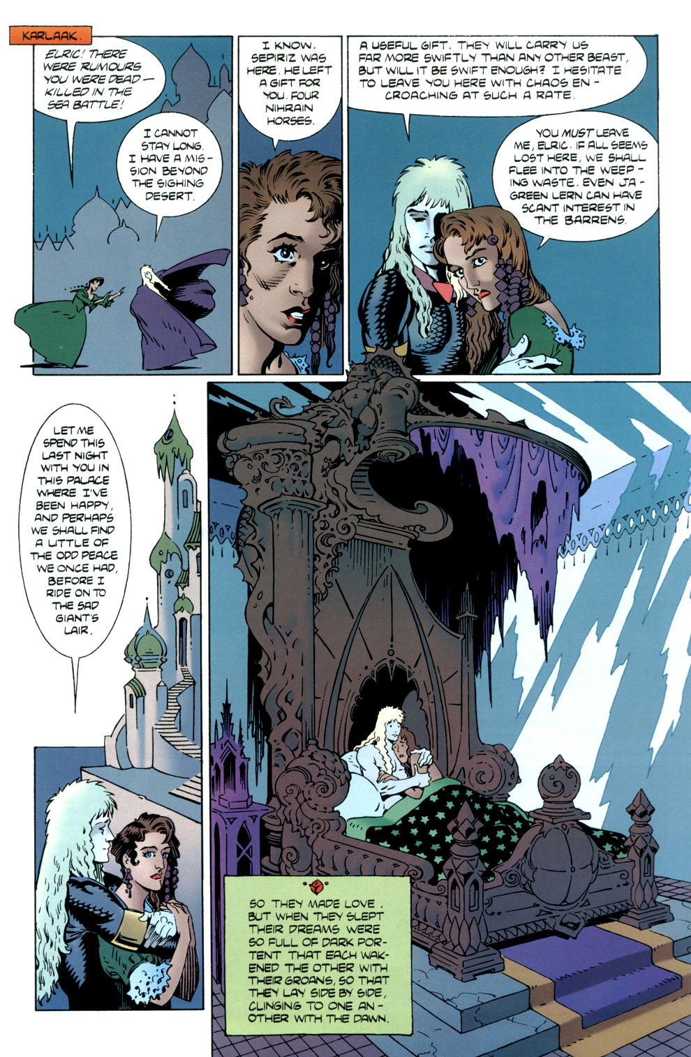 Read online Elric: Stormbringer comic -  Issue #5 - 9