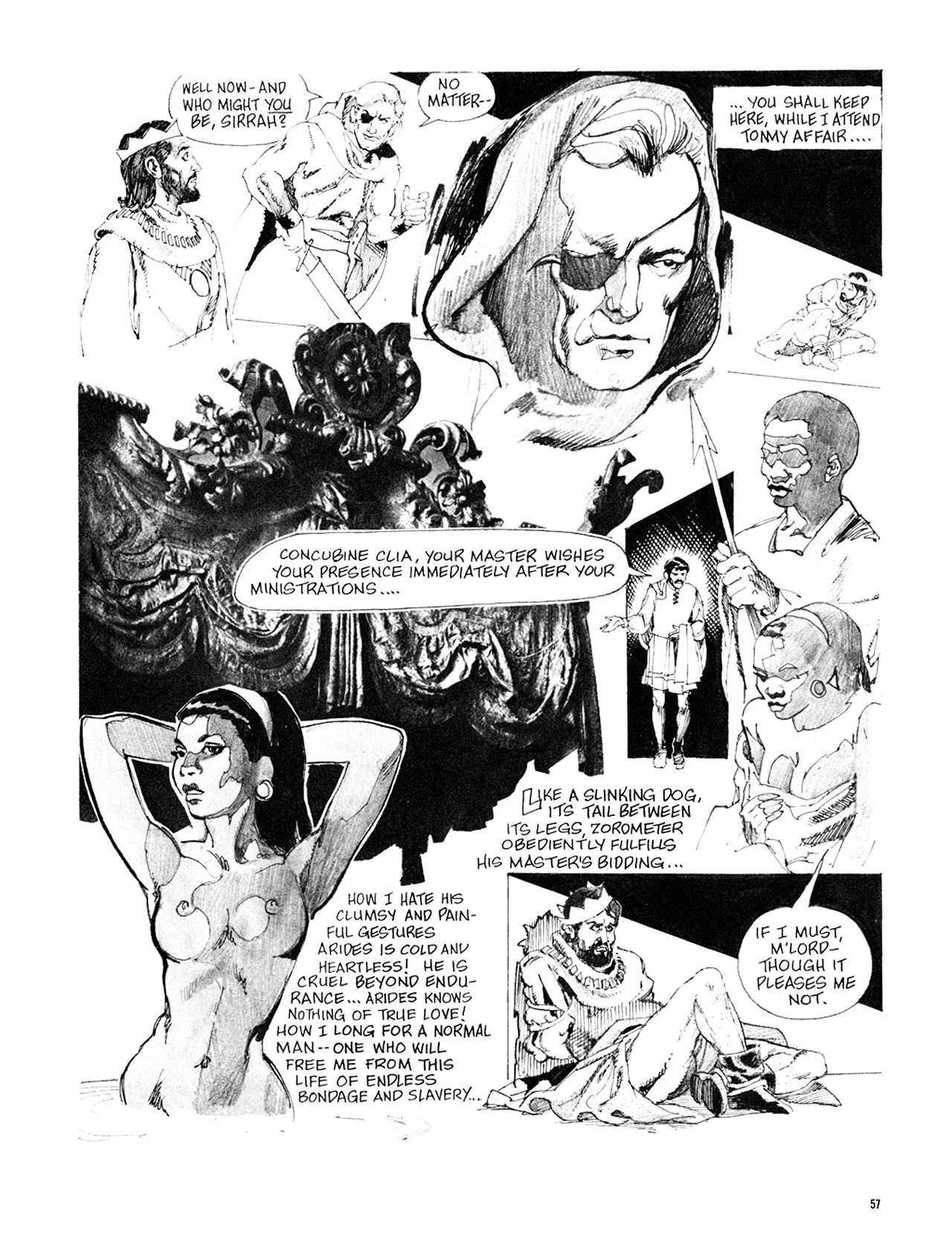 Read online Eerie Archives comic -  Issue # TPB 8 - 58