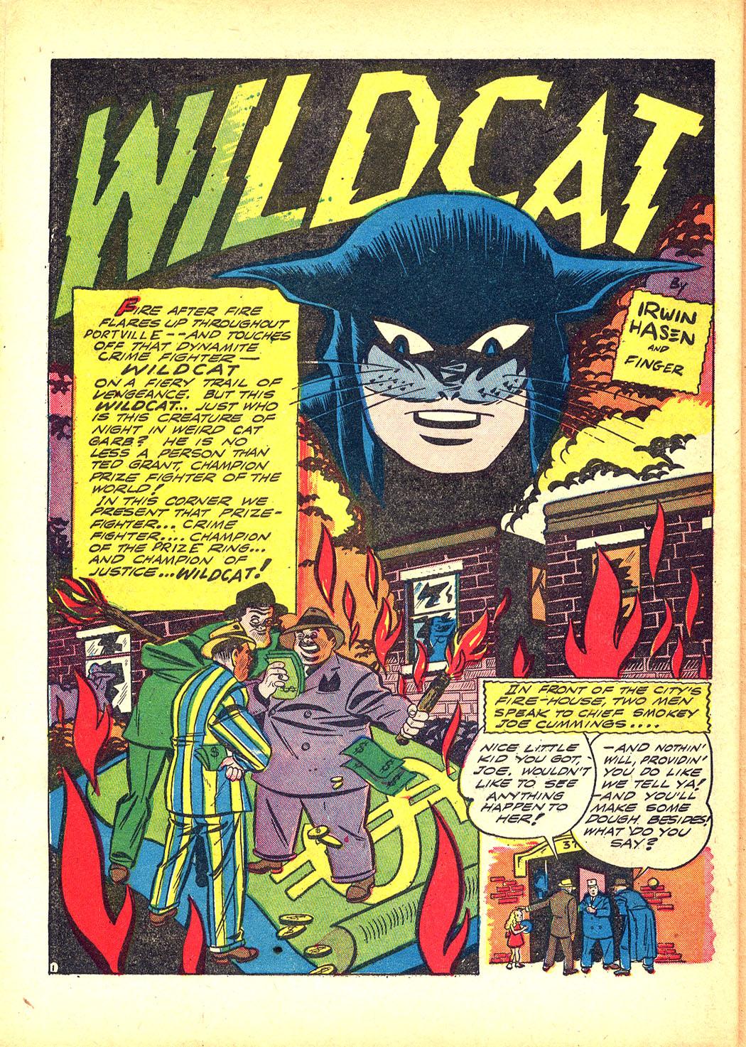 Read online Sensation (Mystery) Comics comic -  Issue #8 - 56