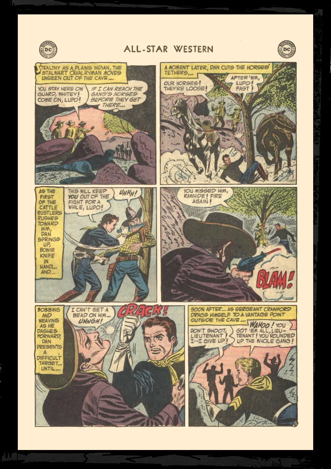Read online All-Star Western (1951) comic -  Issue #72 - 23