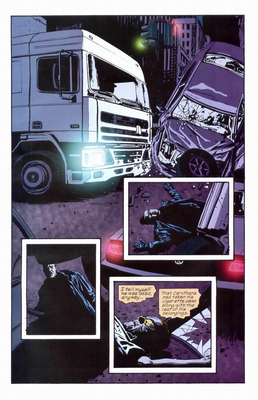 Read online Sleeper comic -  Issue #8 - 22