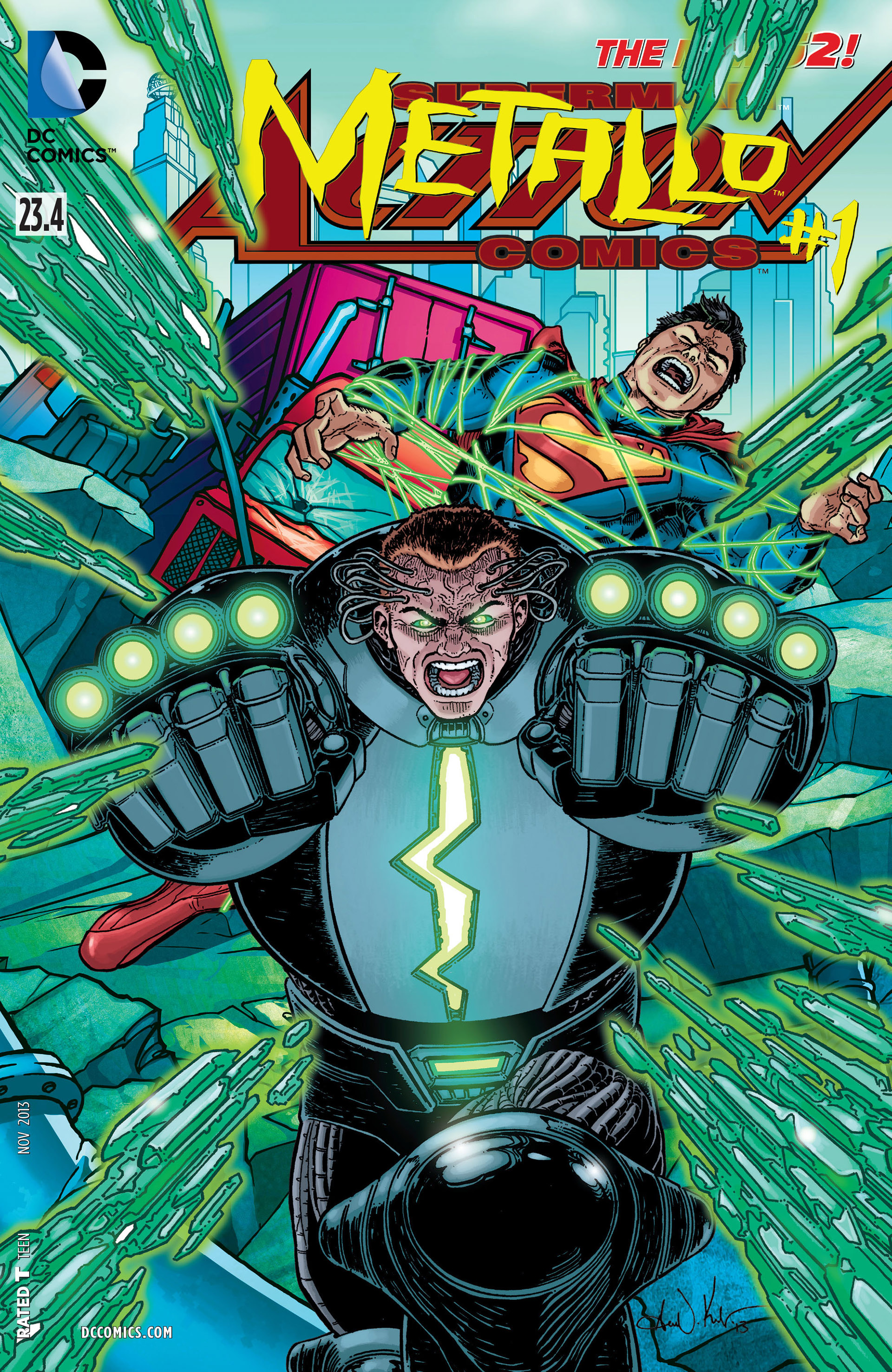 Read online Action Comics (2011) comic -  Issue #23.4 - 1