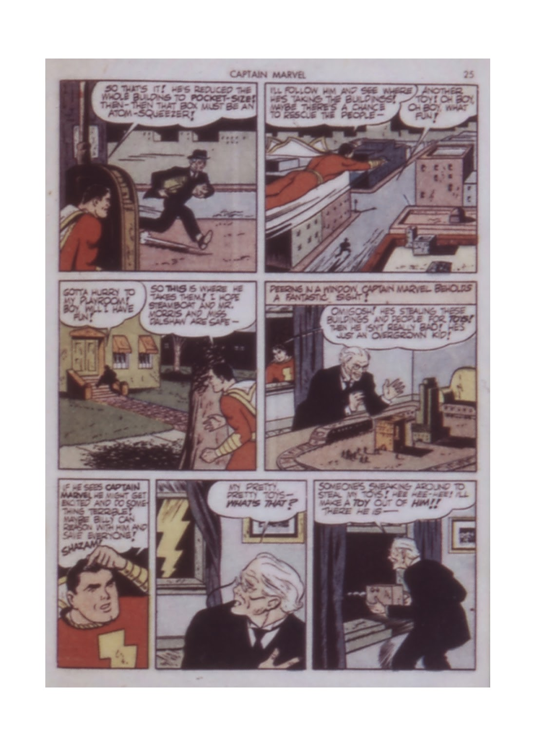 Captain Marvel Adventures issue 14 - Page 25