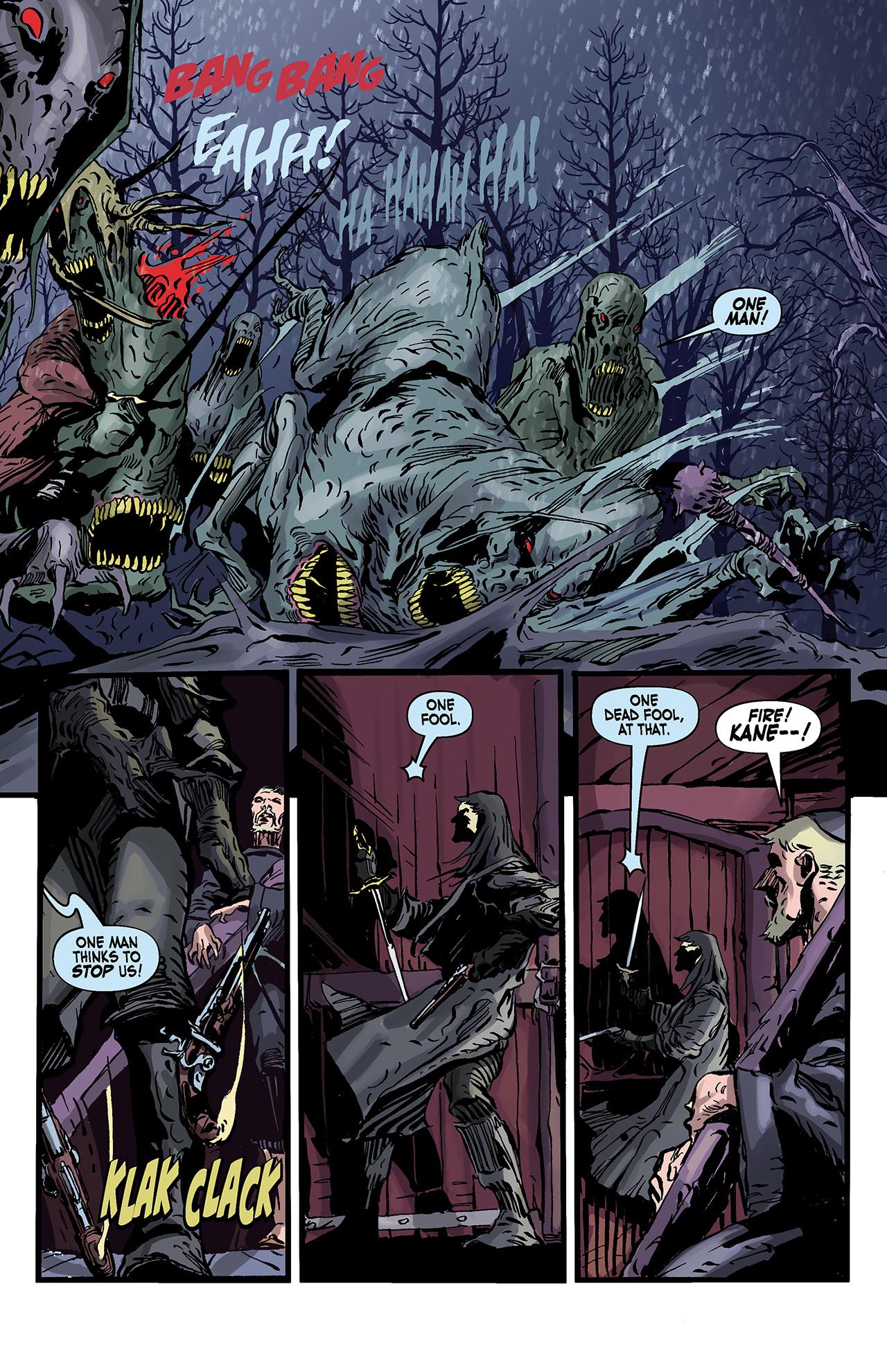 Read online Solomon Kane: Death's Black Riders comic -  Issue #4 - 3