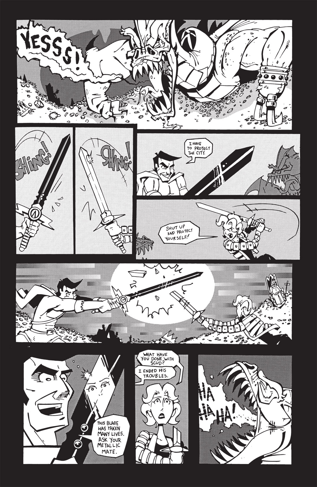 Read online Scud: The Disposable Assassin: The Whole Shebang comic -  Issue # TPB (Part 3) - 66