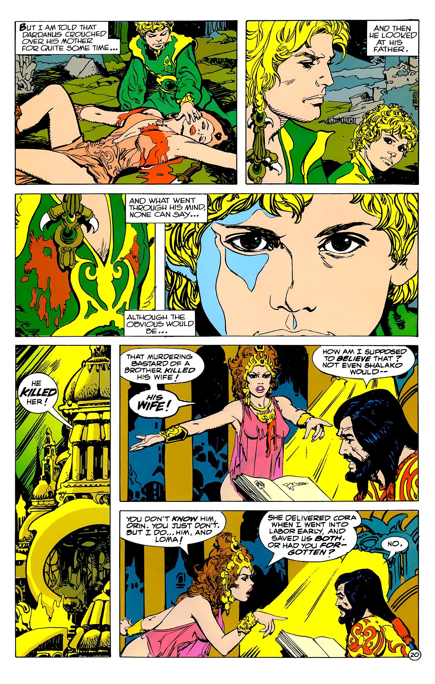 Read online Atlantis Chronicles comic -  Issue #2 - 20
