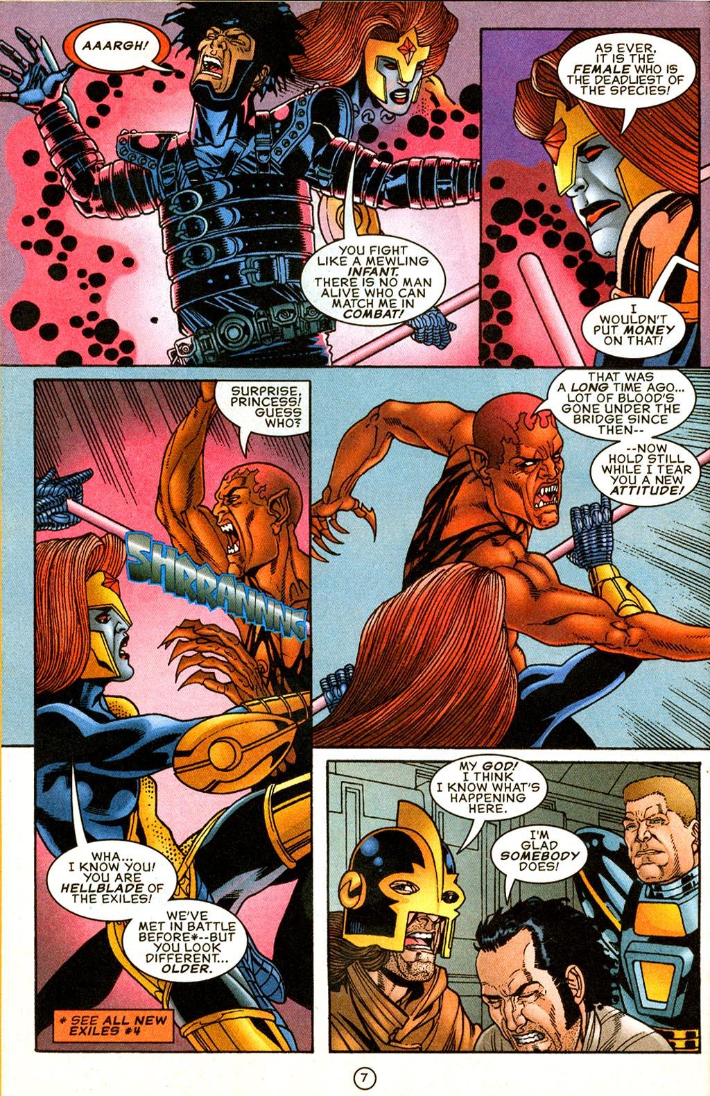 Read online UltraForce (1995) comic -  Issue #9 - 7