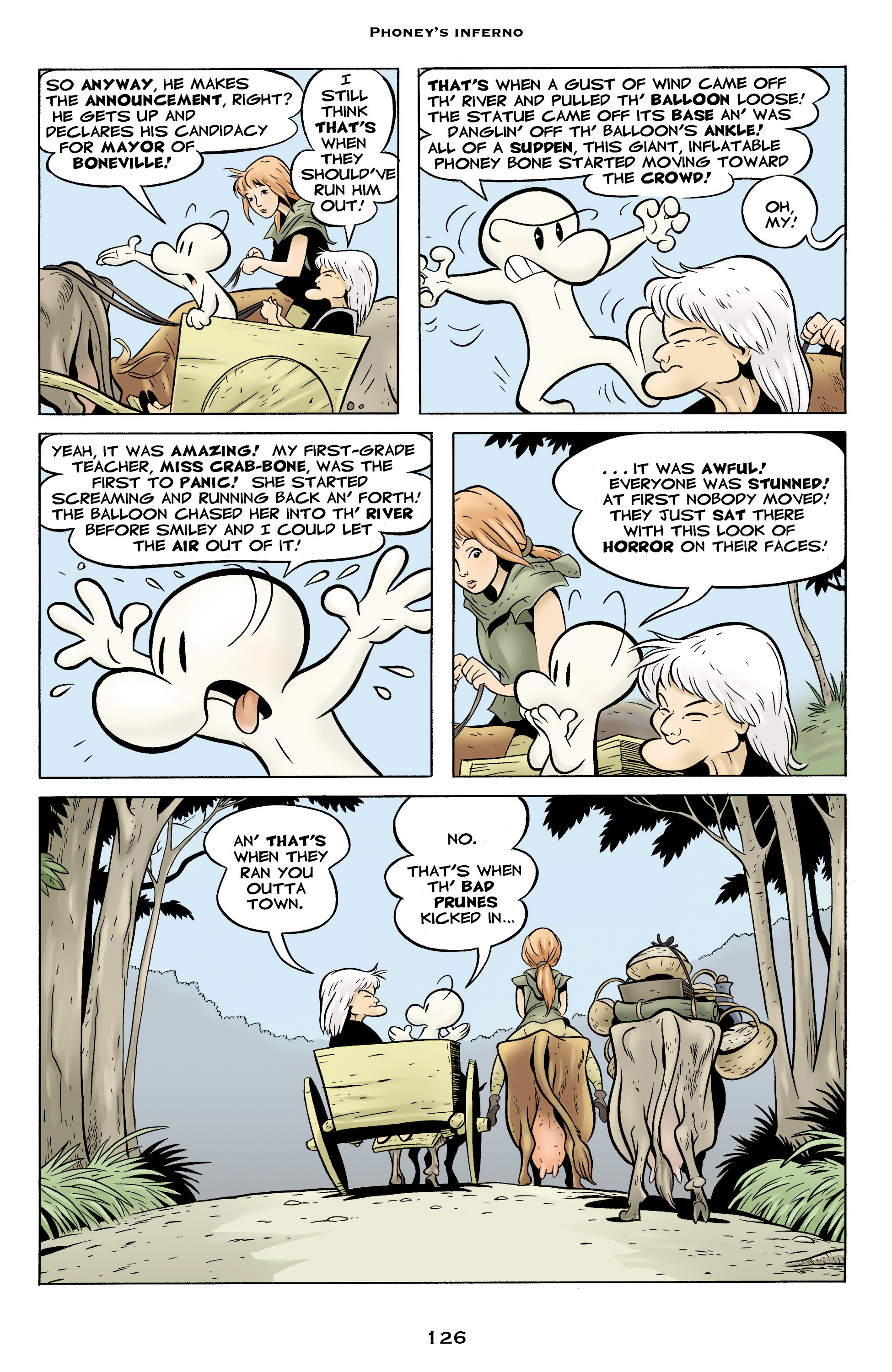 Read online Bone: Out From Boneville comic -  Issue # TPB - 126