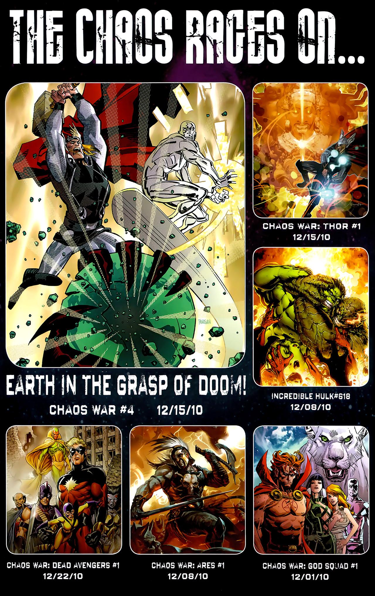 Read online Chaos War: Alpha Flight comic -  Issue # Full - 24