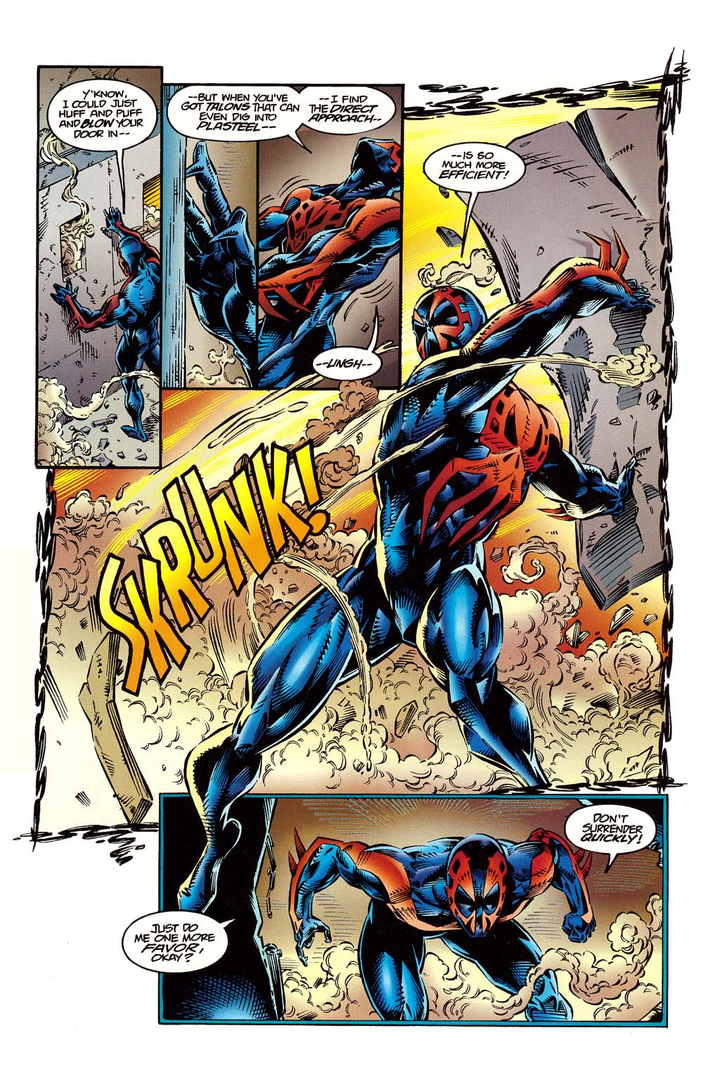 Read online 2099 Unlimited comic -  Issue #10 - 16