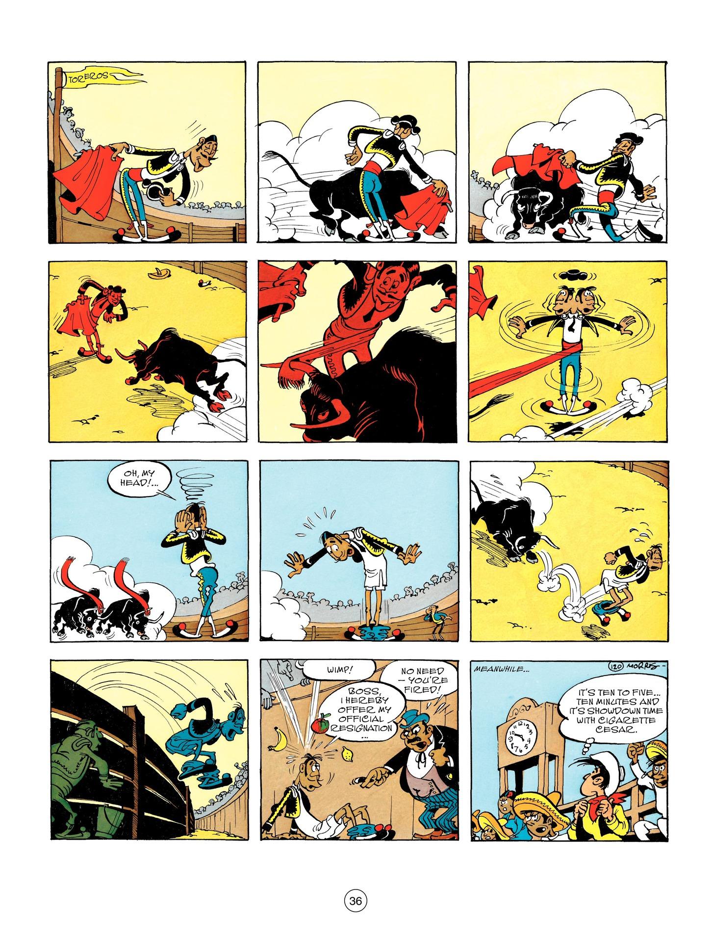 Read online A Lucky Luke Adventure comic -  Issue #55 - 36