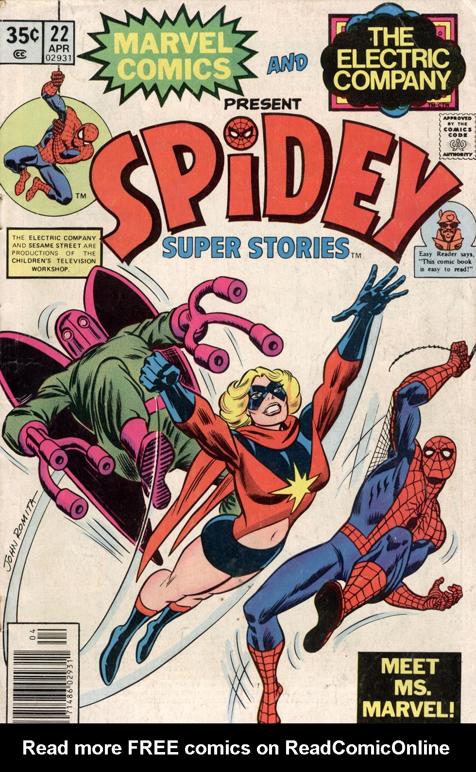 Spidey Super Stories 22 Page 1