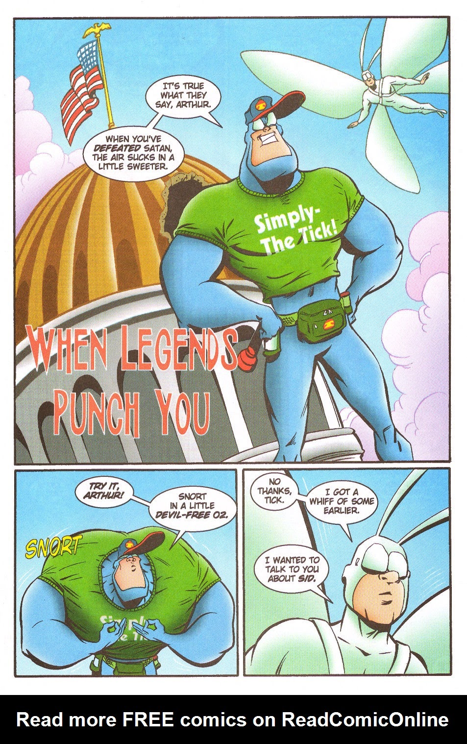 Read online The Tick: Days of Drama comic -  Issue #5 - 3