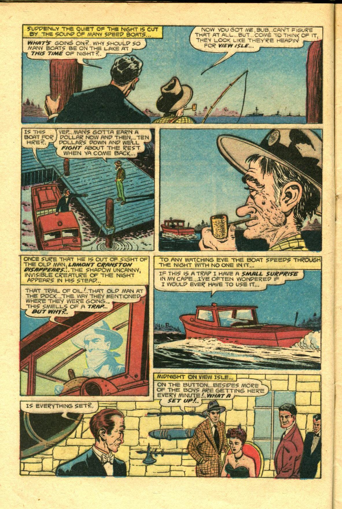 Read online Shadow Comics comic -  Issue #98 - 8