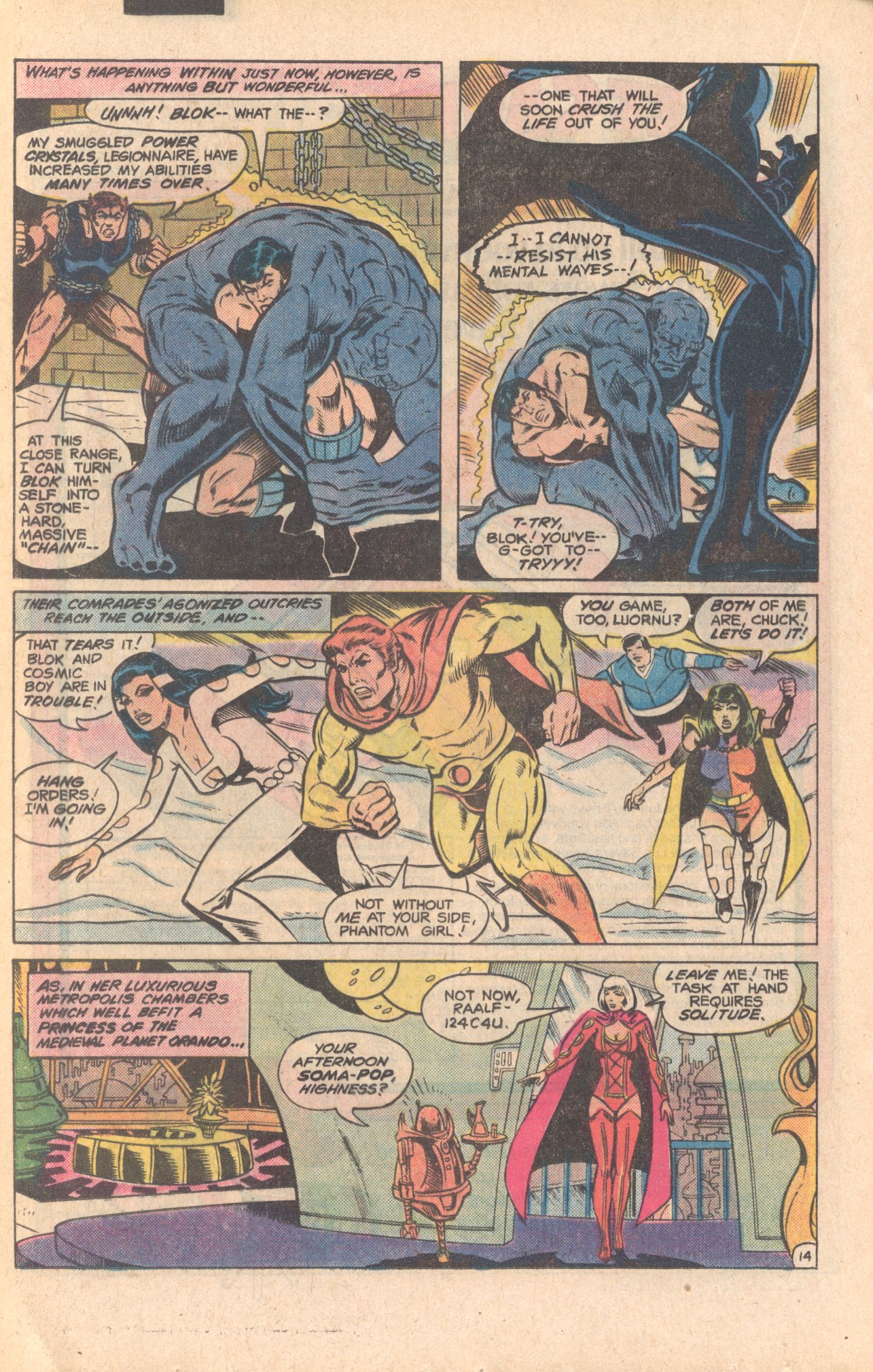 Legion of Super-Heroes (1980) 279 Page 14