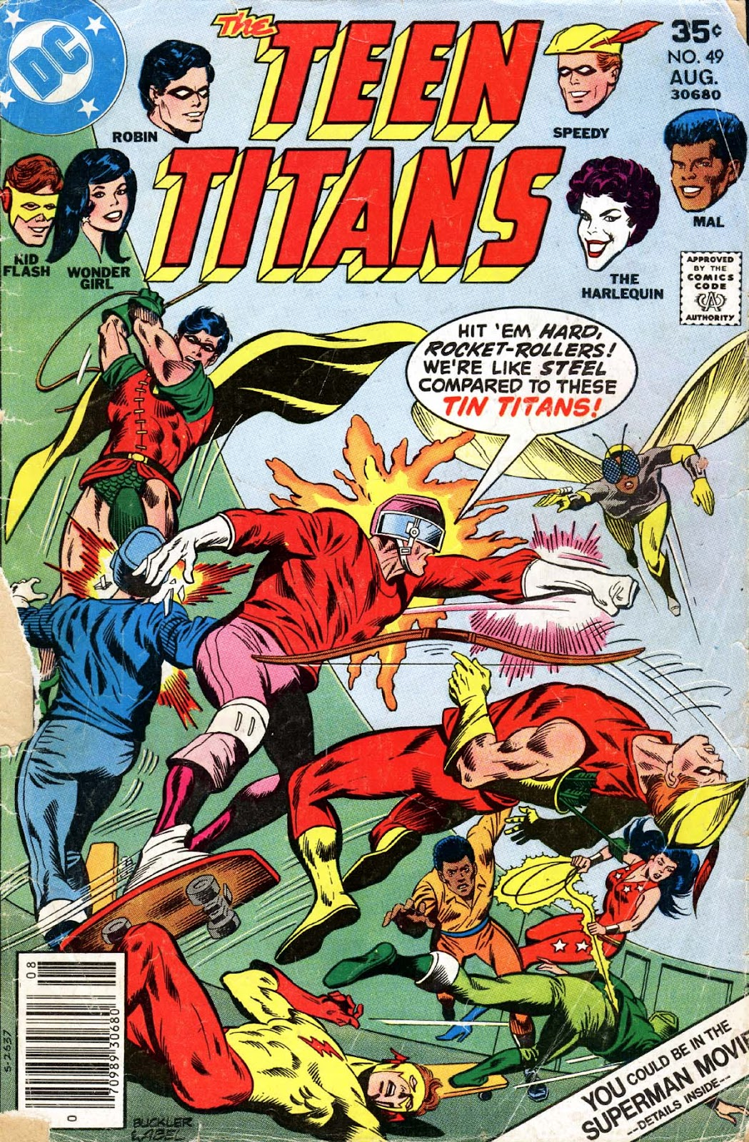 Teen Titans (1966) issue 49 - Page 1