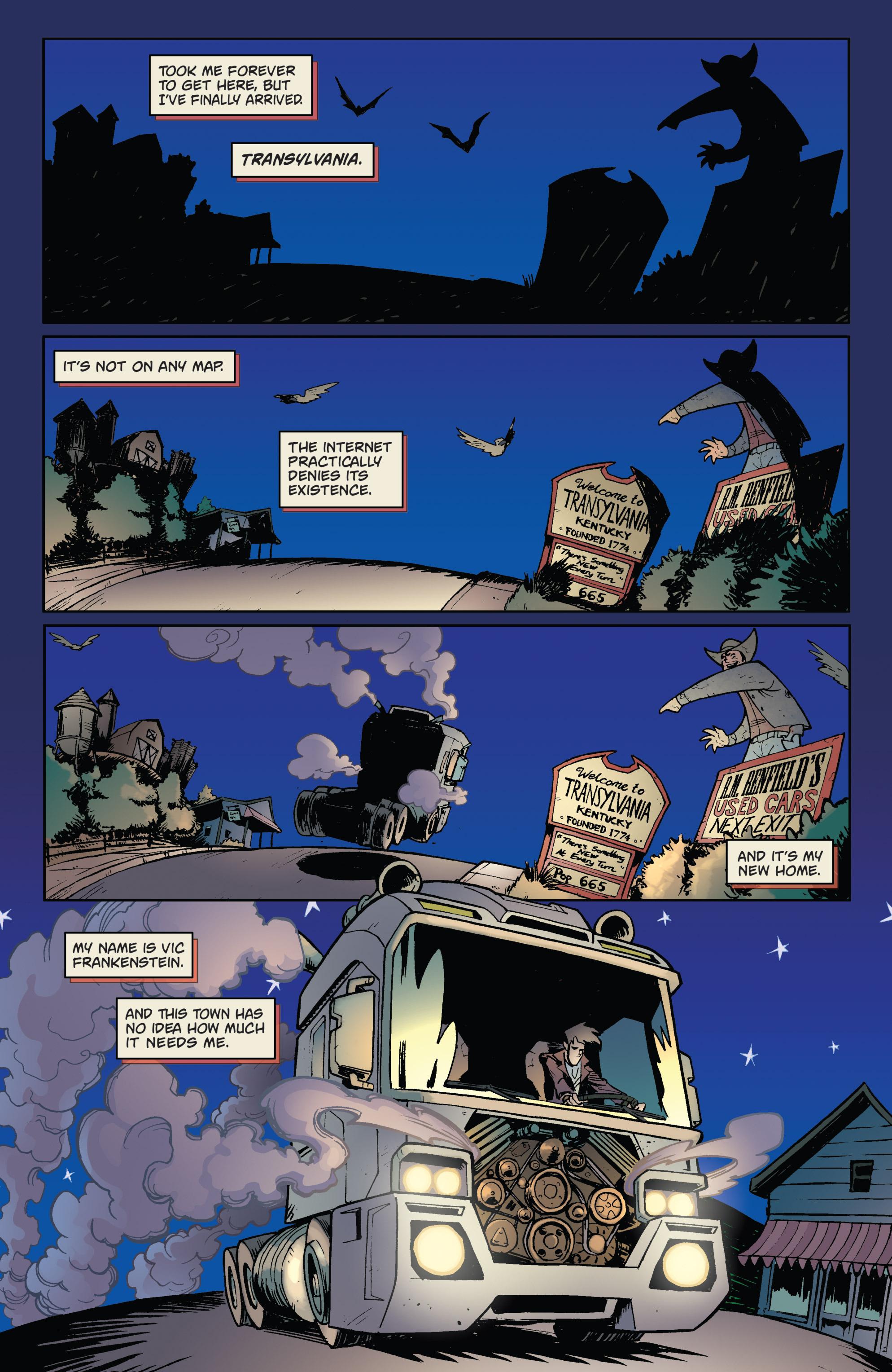 Read online Monster Motors comic -  Issue # Full - 4
