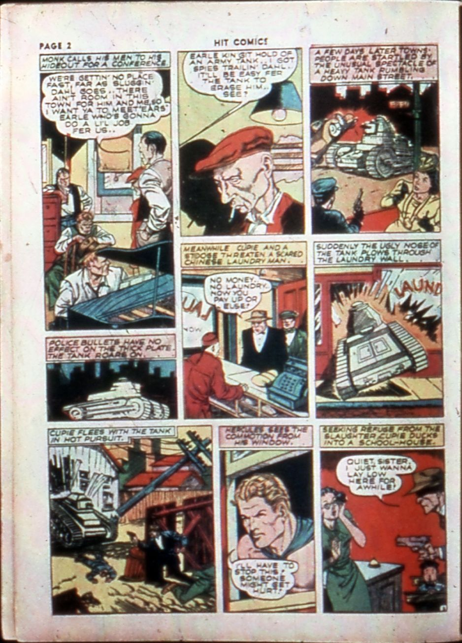 Read online Hit Comics comic -  Issue #14 - 4