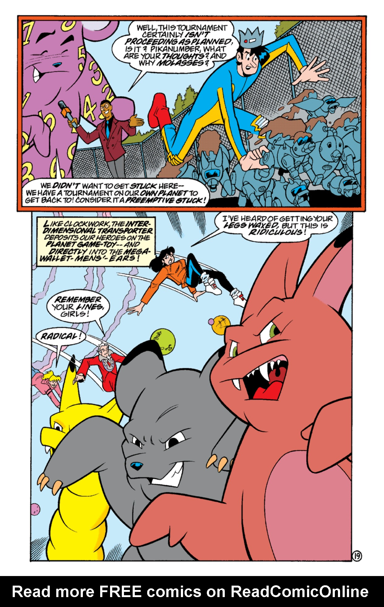 Read online Archie's Weird Mysteries comic -  Issue #17 - 21