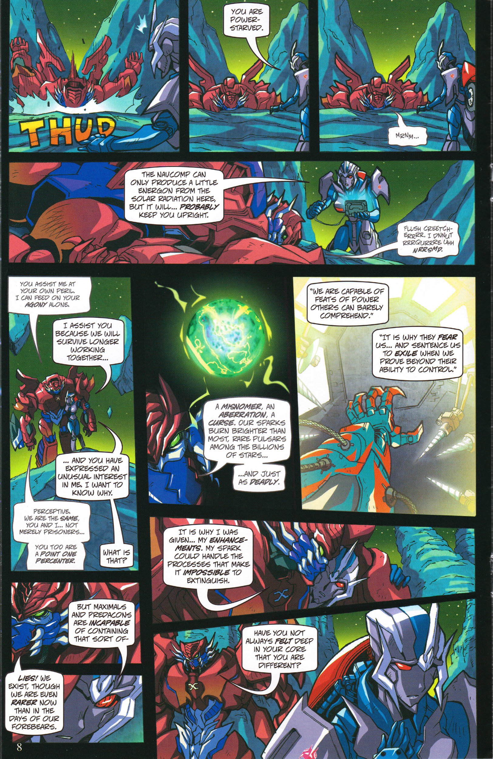 Read online Transformers: Collectors' Club comic -  Issue #58 - 8