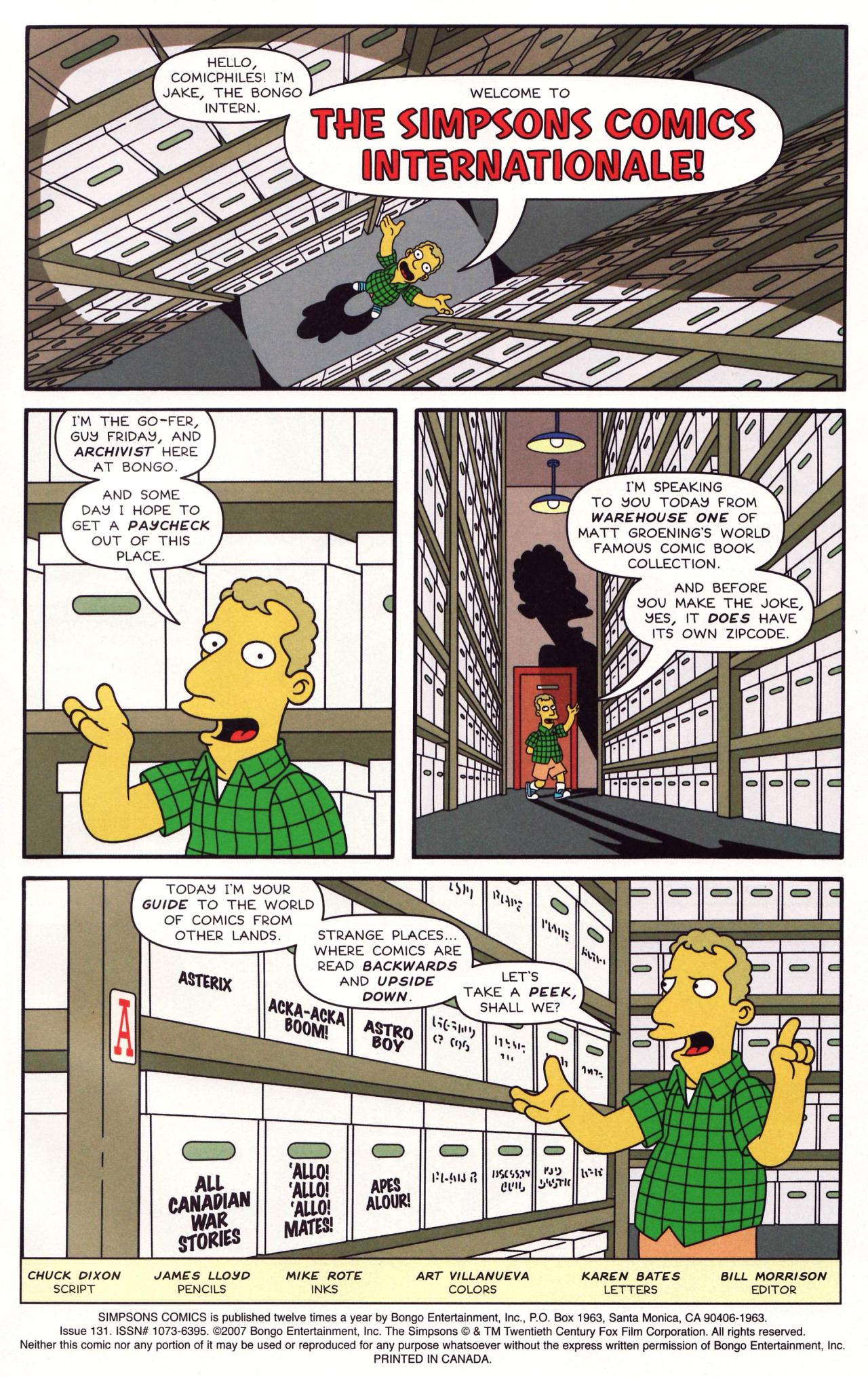 Read online Simpsons Comics comic -  Issue #131 - 2