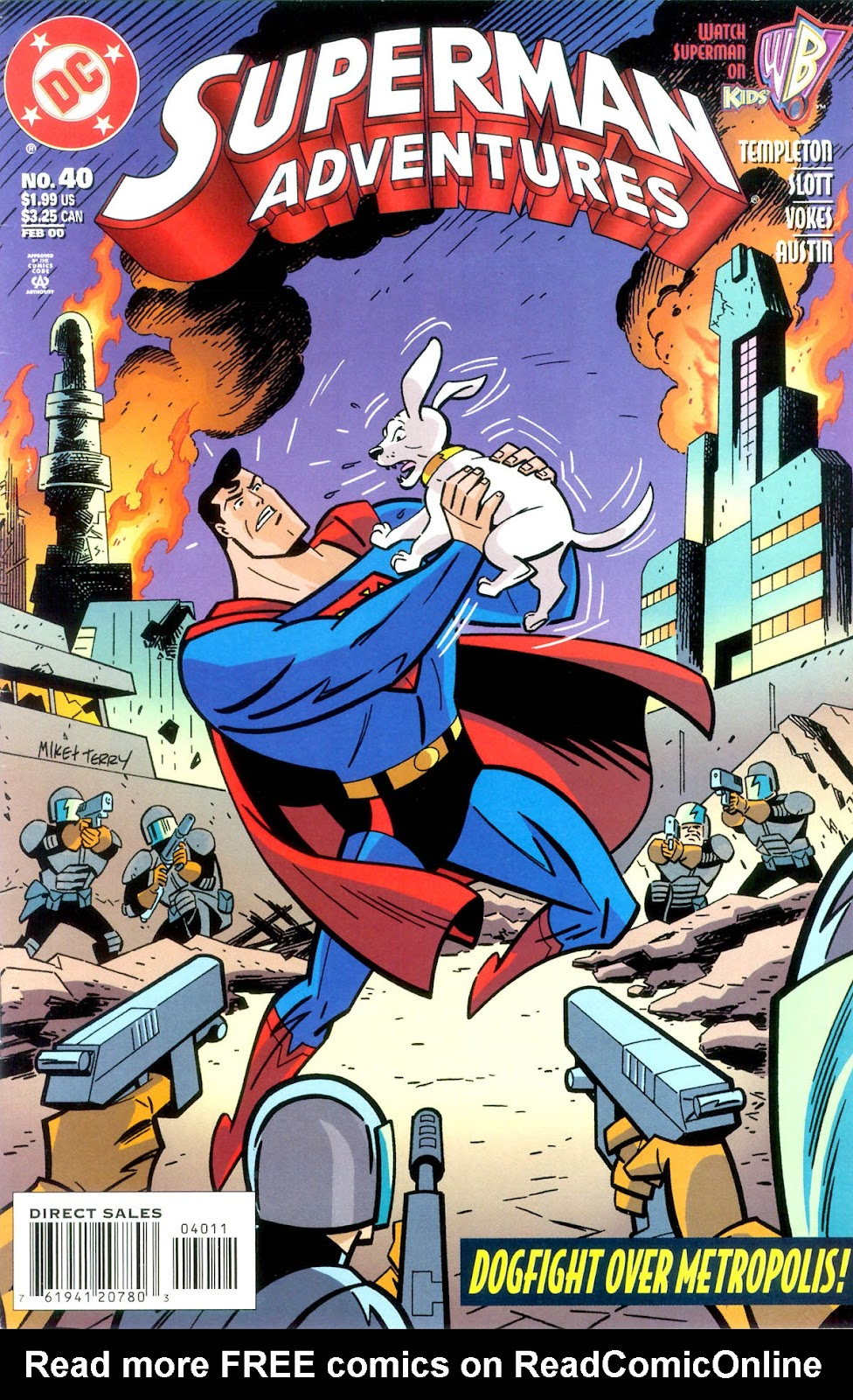 Superman Adventures 40 Page 1