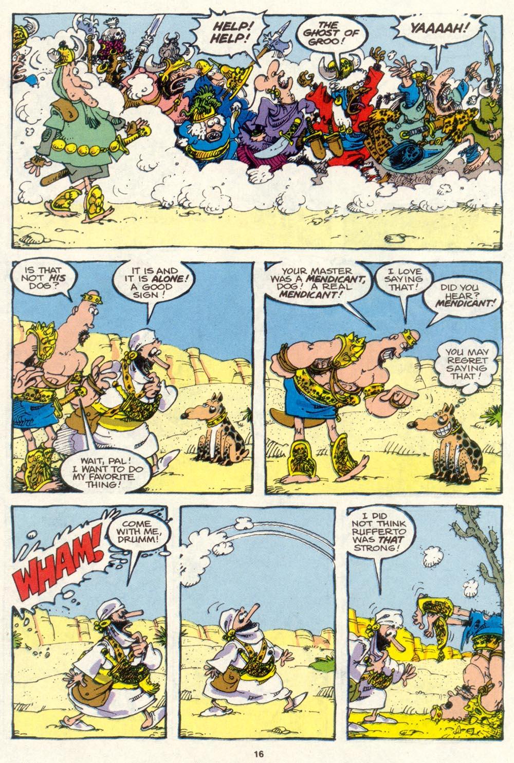 Read online Sergio Aragonés Groo the Wanderer comic -  Issue #85 - 13