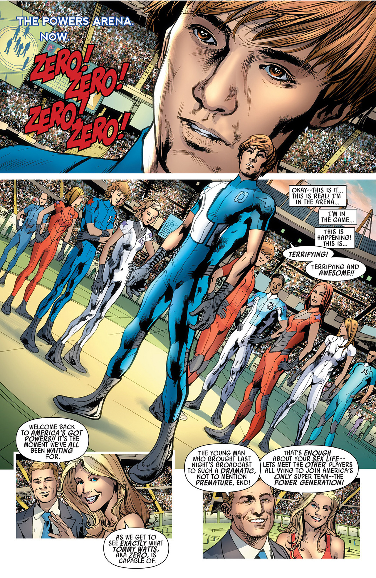 Read online America's Got Powers comic -  Issue #3 - 15