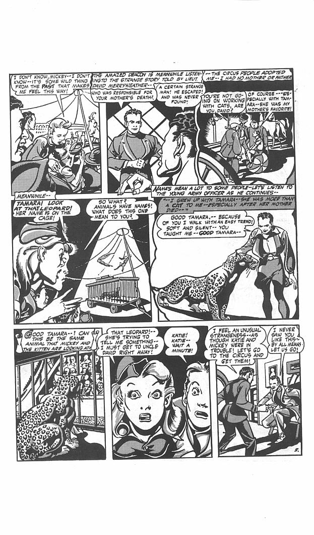 Read online Golden-Age Men of Mystery comic -  Issue #11 - 7