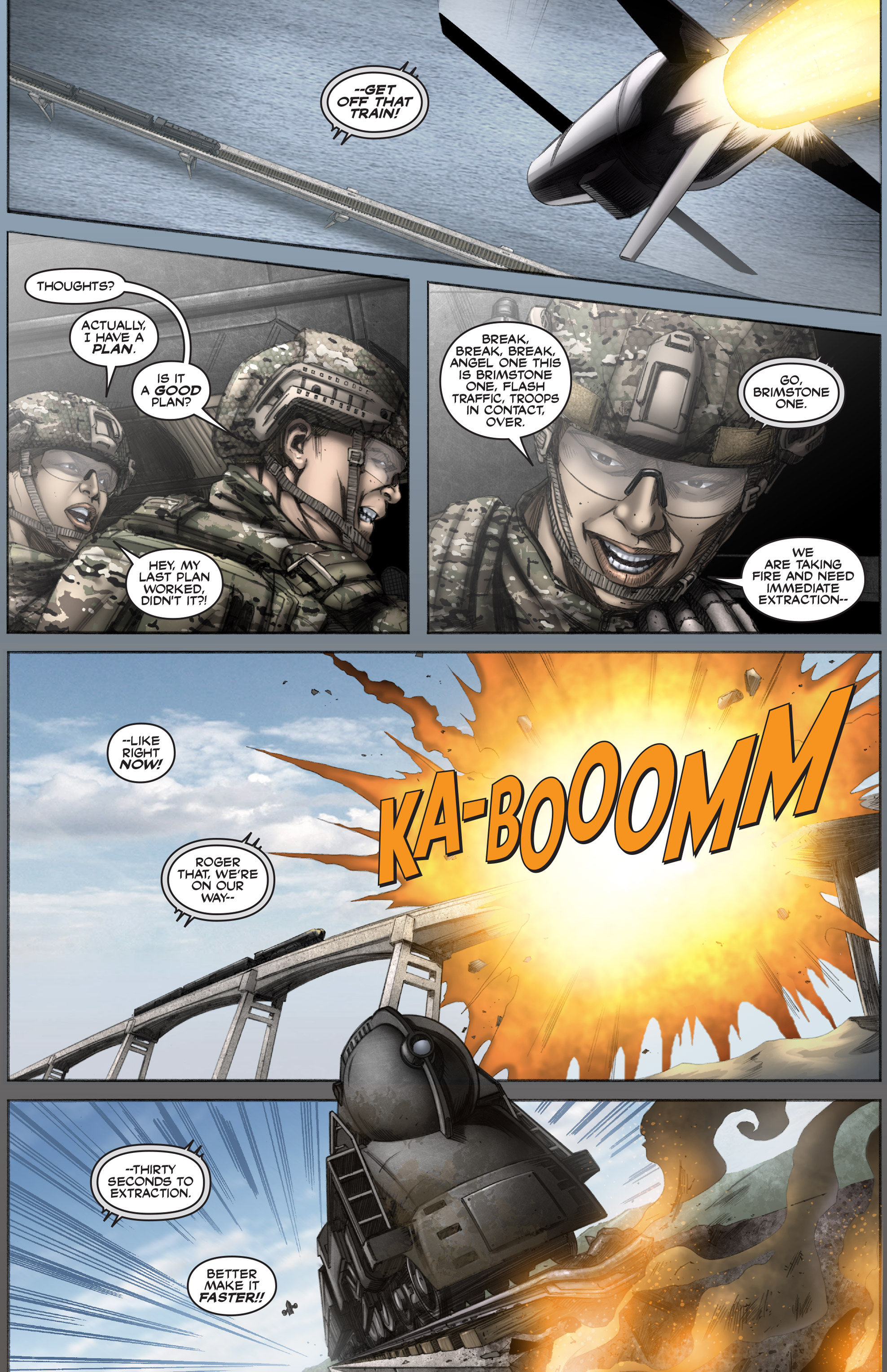 Read online America's Army comic -  Issue #12 - 23
