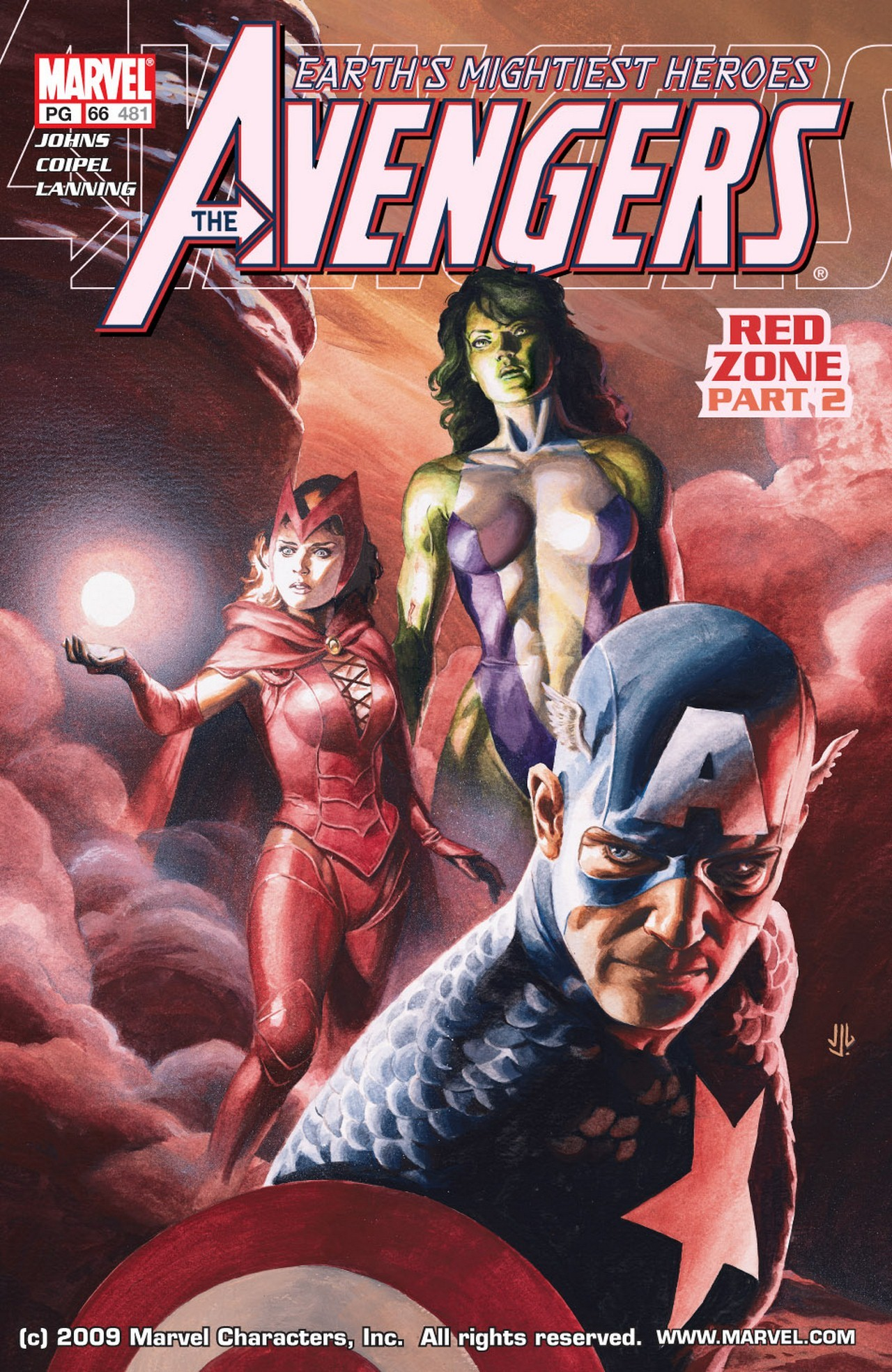 Read online Avengers (1998) comic -  Issue #66 - 1