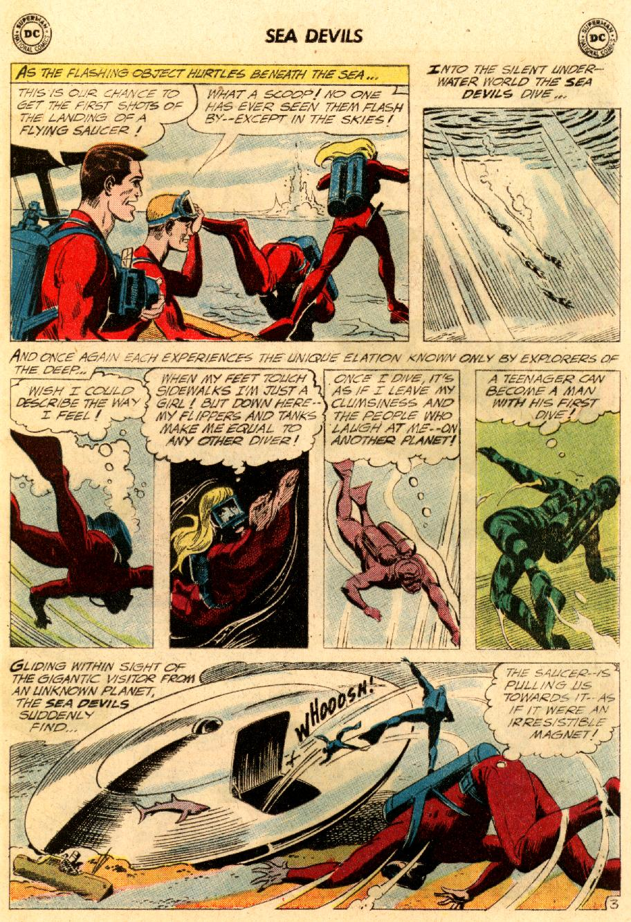 Read online Sea Devils comic -  Issue #5 - 6