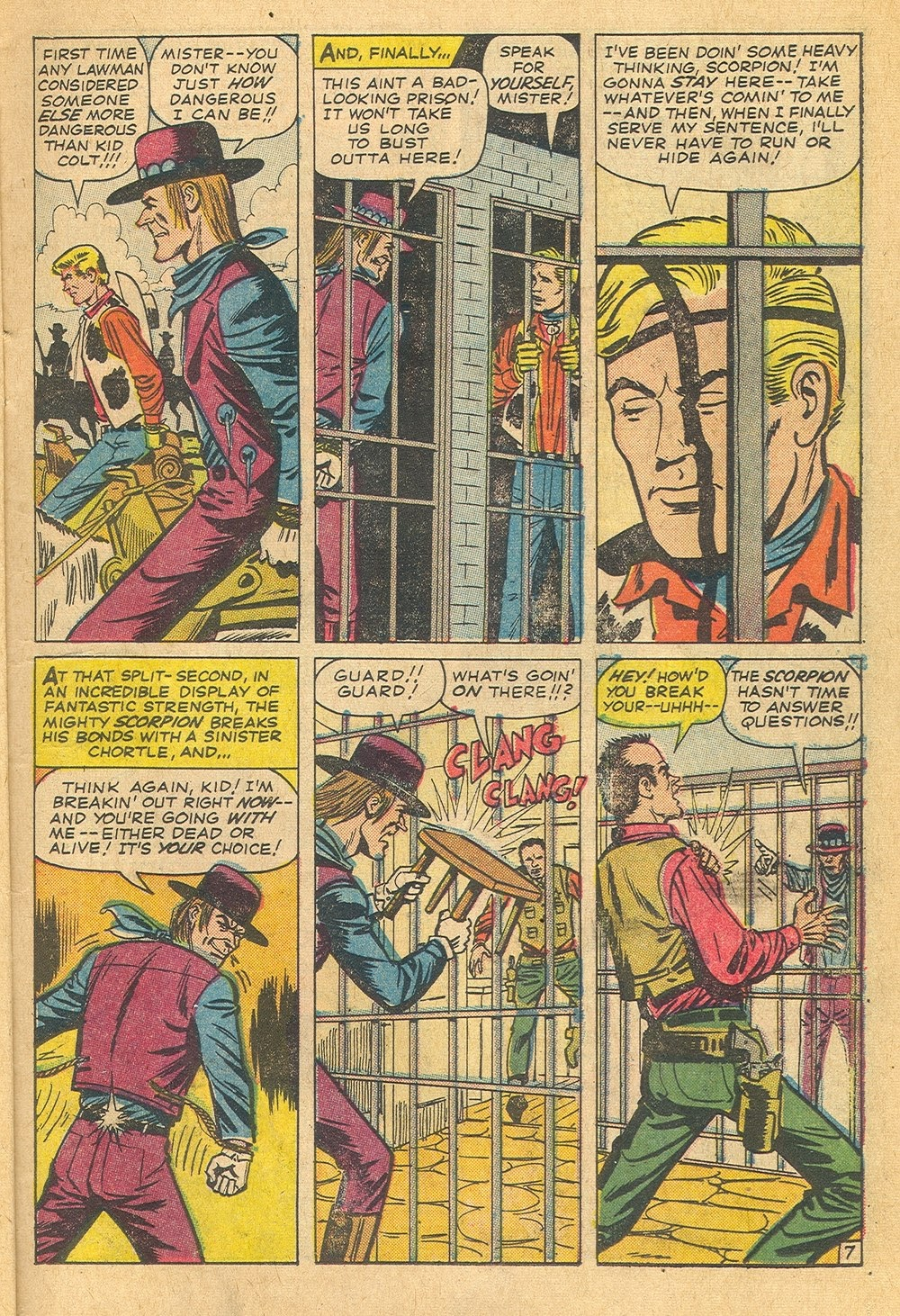 Kid Colt Outlaw issue 115 - Page 11