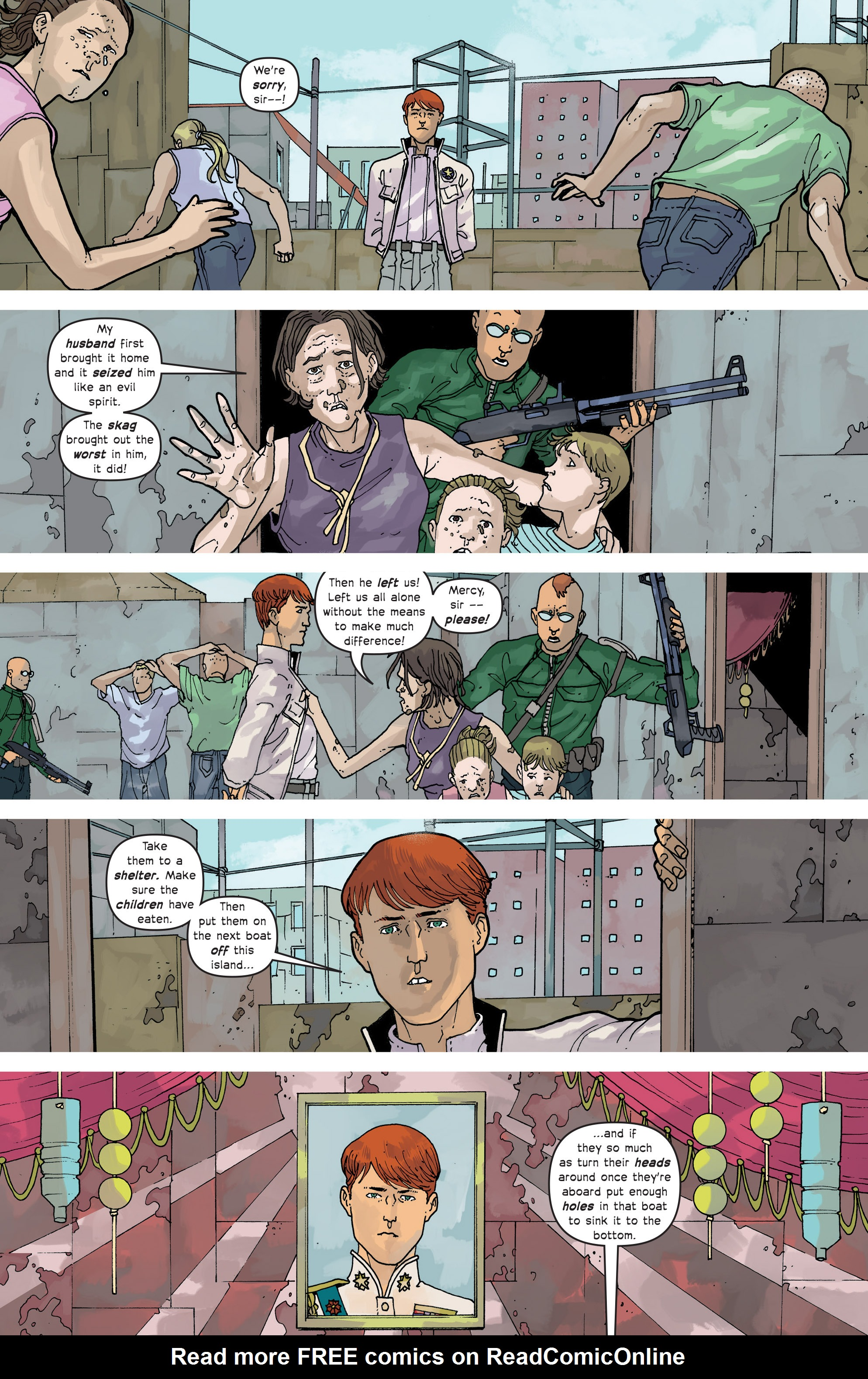 Read online Great Pacific comic -  Issue #14 - 14