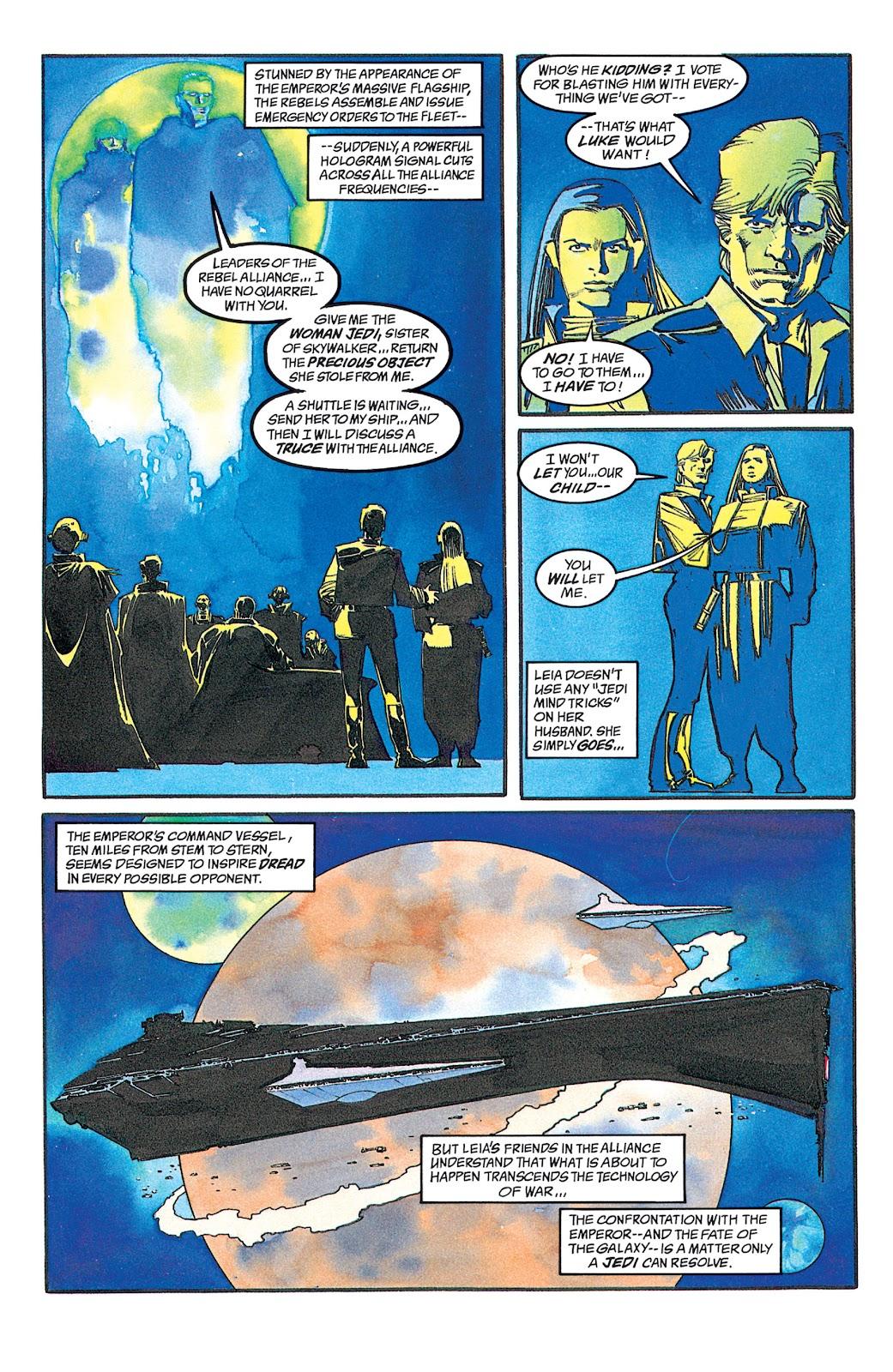 Read online Star Wars: Dark Empire Trilogy comic -  Issue # TPB (Part 2) - 45