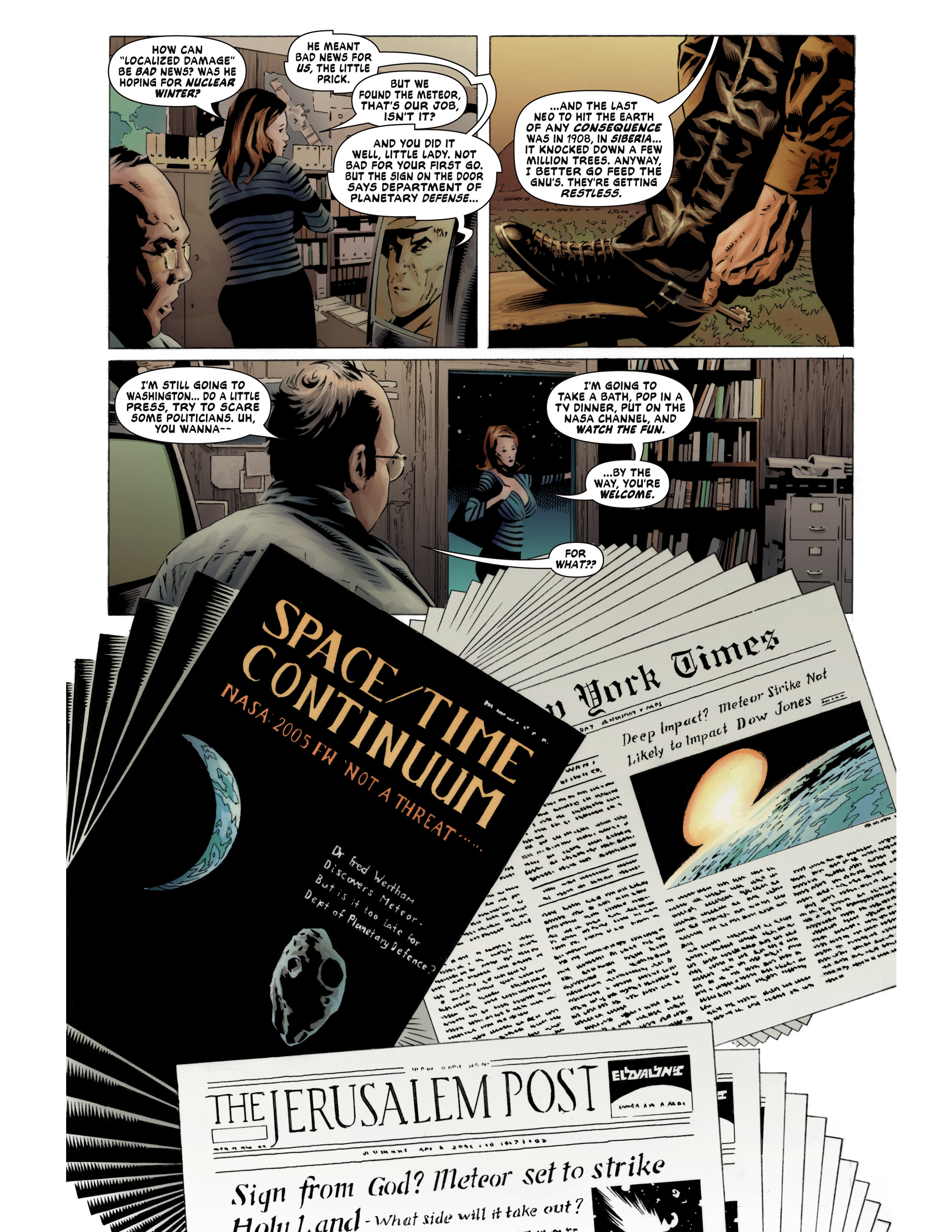 Read online Bad Planet comic -  Issue # TPB - 18