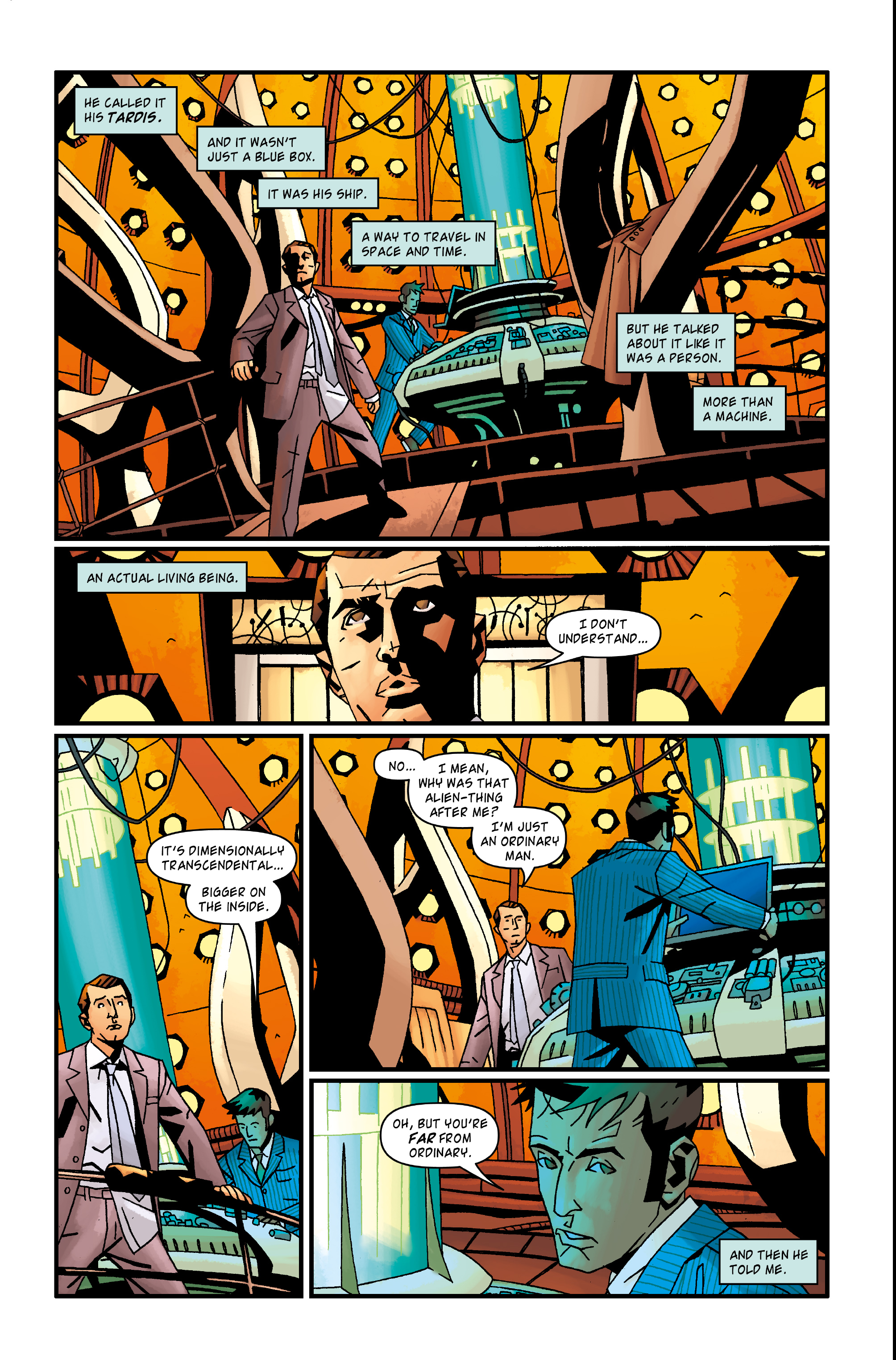 Read online Doctor Who: The Tenth Doctor Archives comic -  Issue #35 - 28