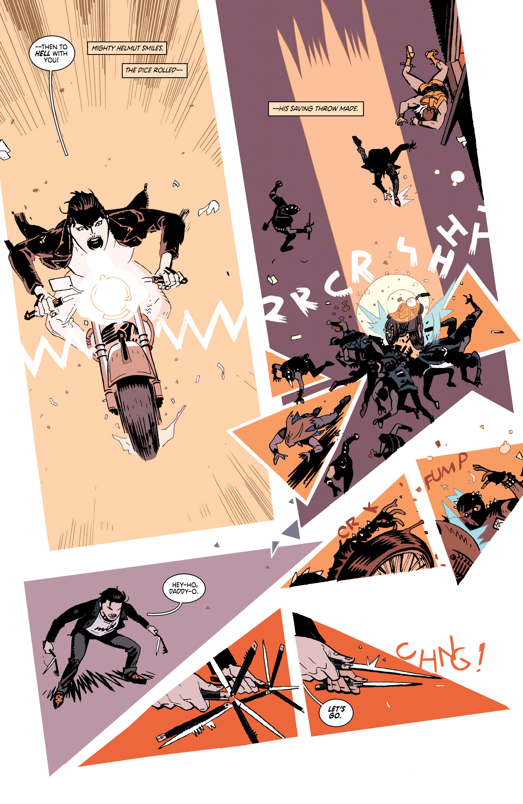 Read online Deadly Class comic -  Issue #25 - 11