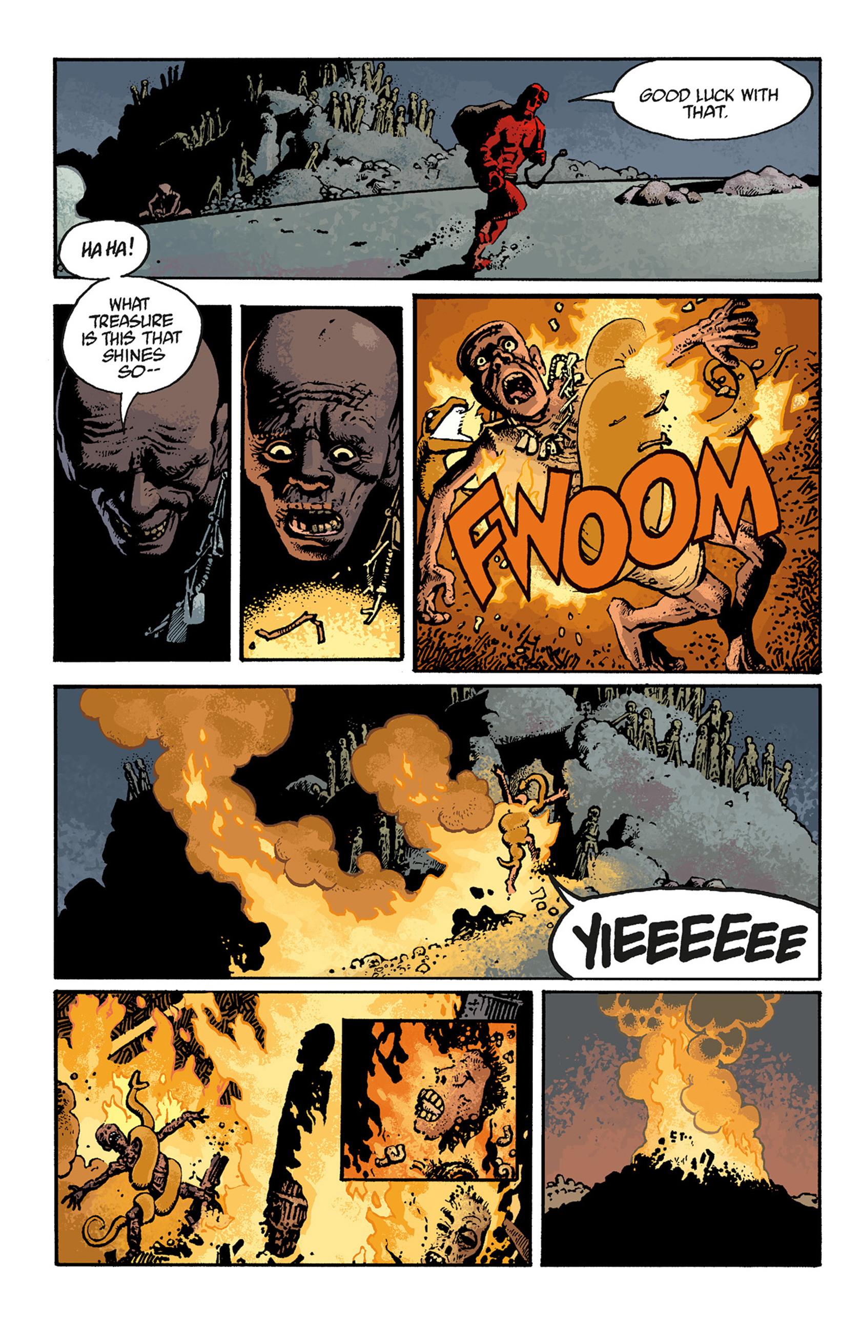 Read online Hellboy: The Troll Witch and Others comic -  Issue # TPB - 114