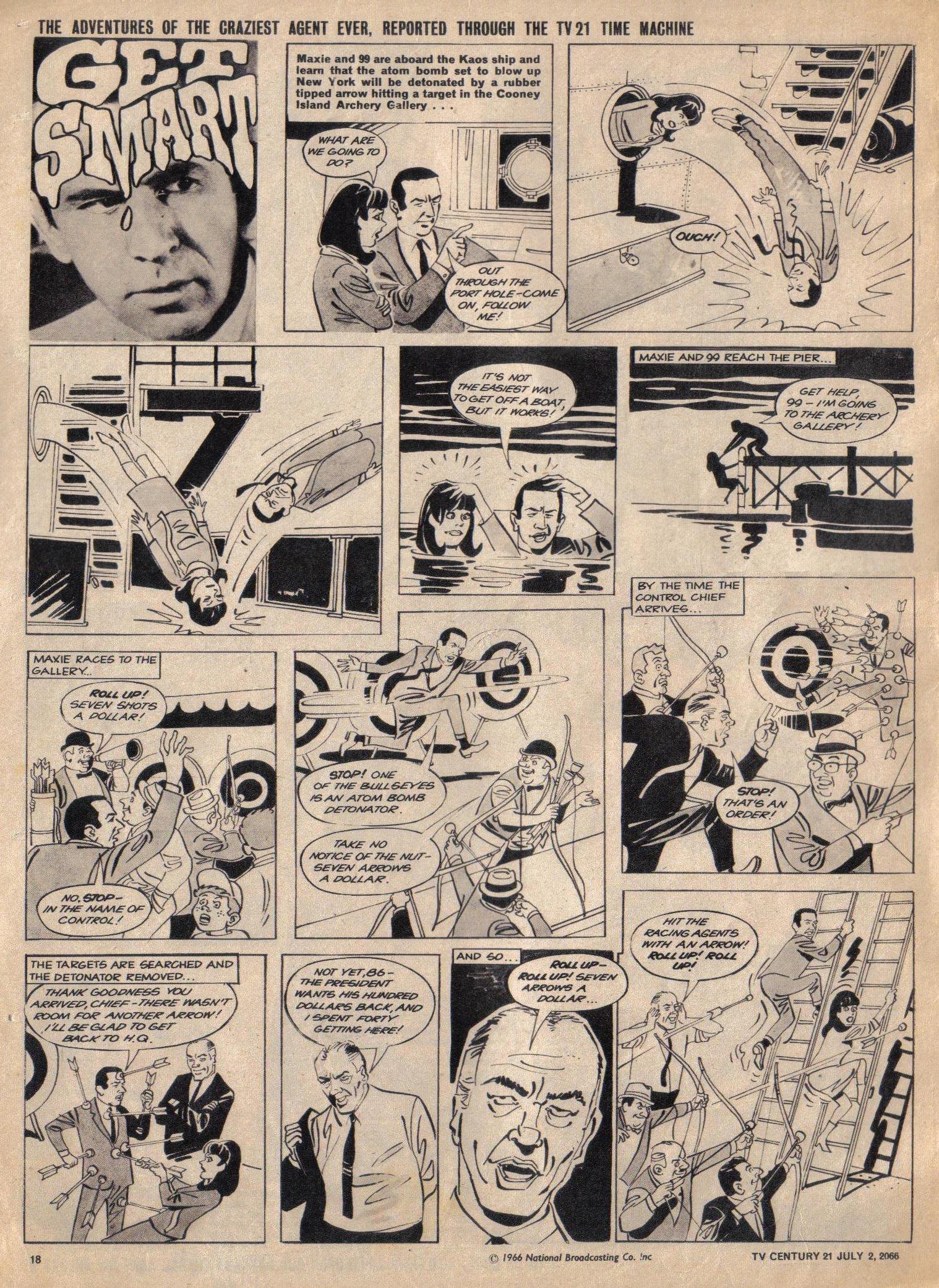 Read online TV Century 21 (TV 21) comic -  Issue #76 - 17