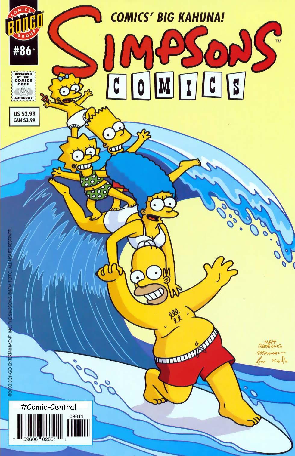 Read online Simpsons Comics comic -  Issue #86 - 1