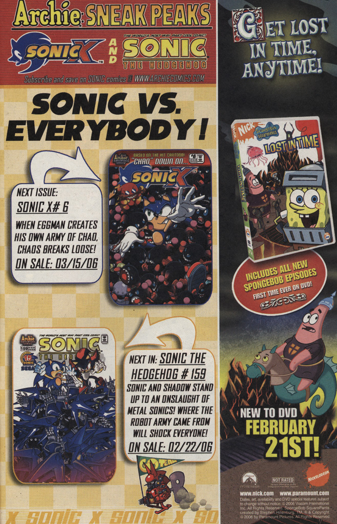 Read online Sonic X comic -  Issue #5 - 31